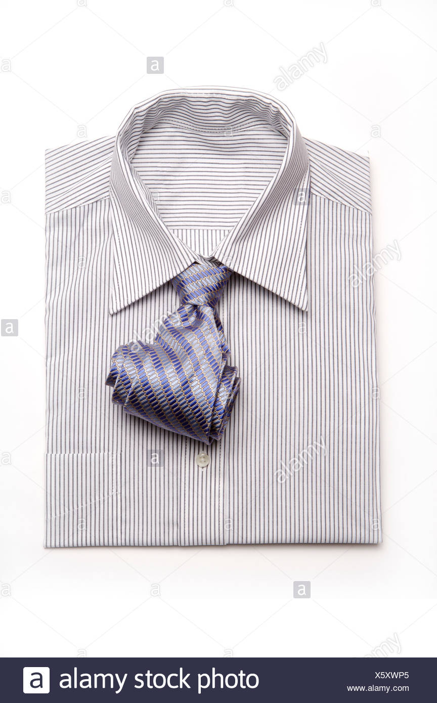 Shirt and Tie - Stock Image