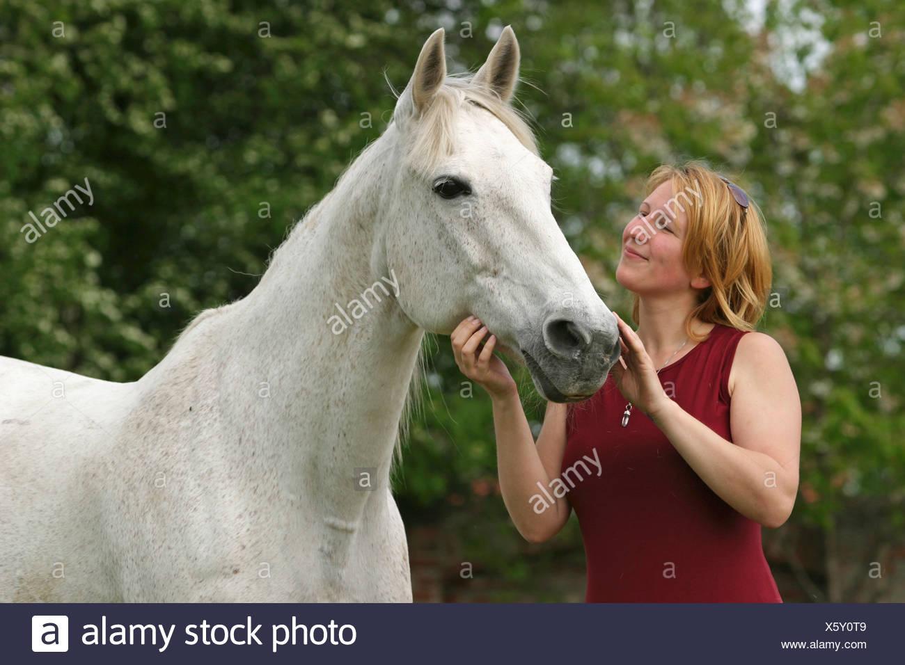 Frau pferde Olympia: Nach