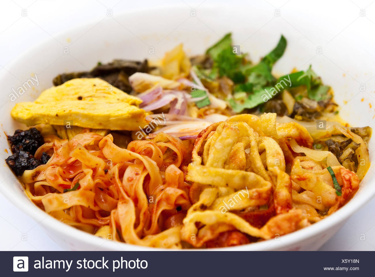 food of Northern of Thailand Stock Photo