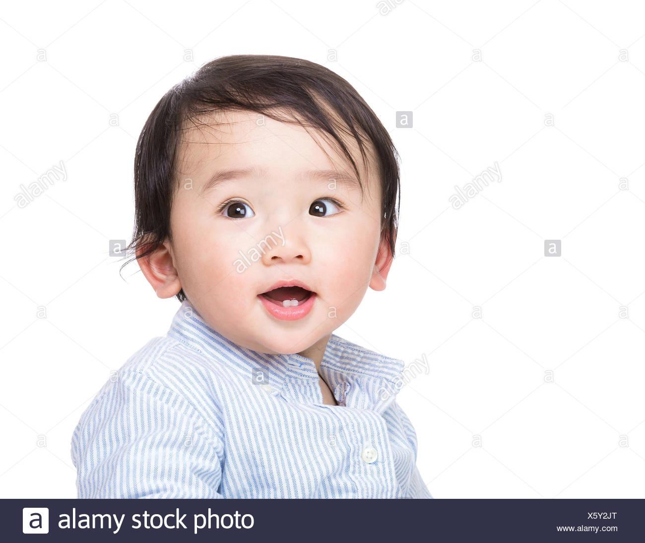 japanese cute child baby stock photos & japanese cute child baby