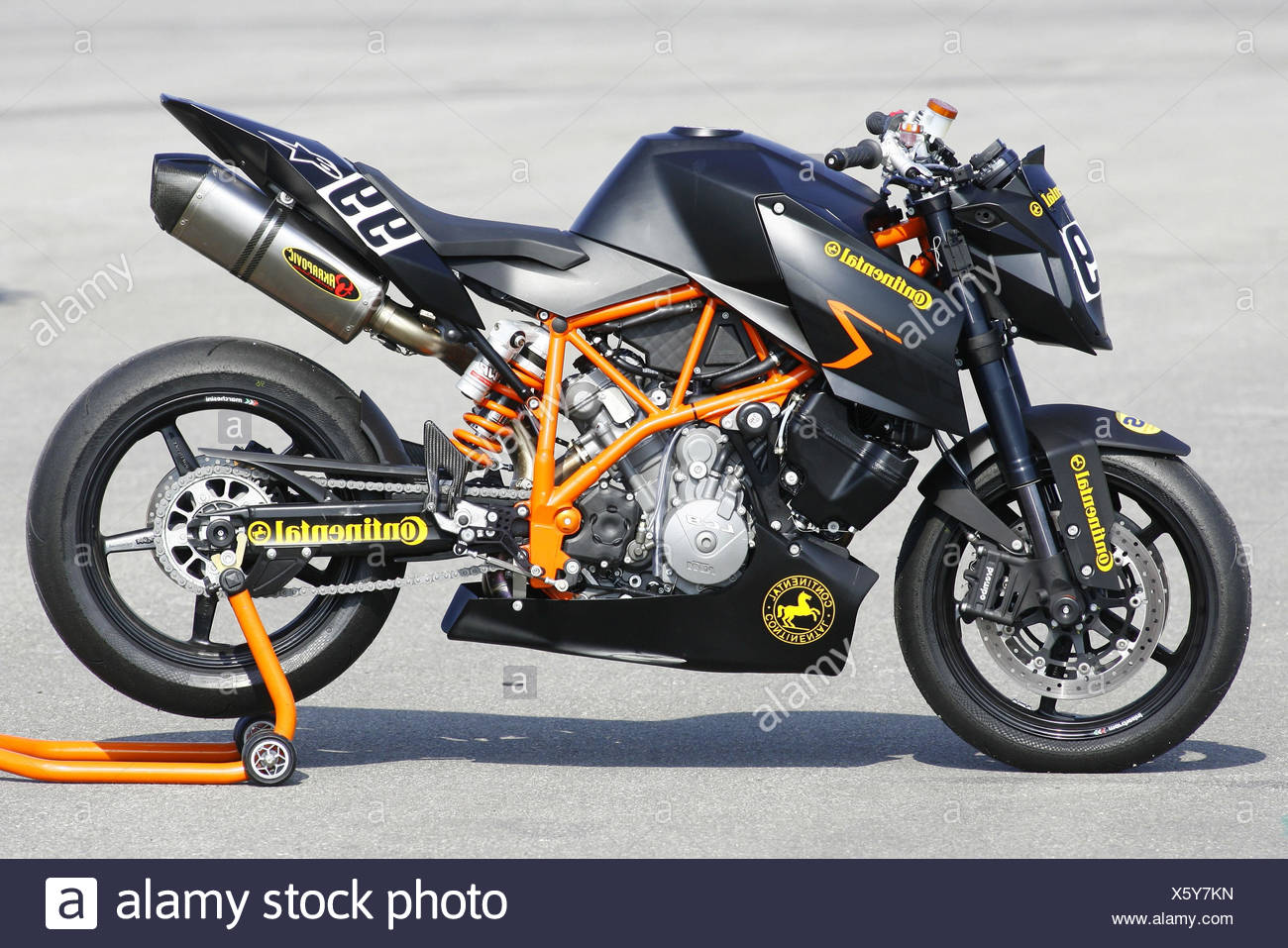 KTM LC8, standard, preview, - Stock Image