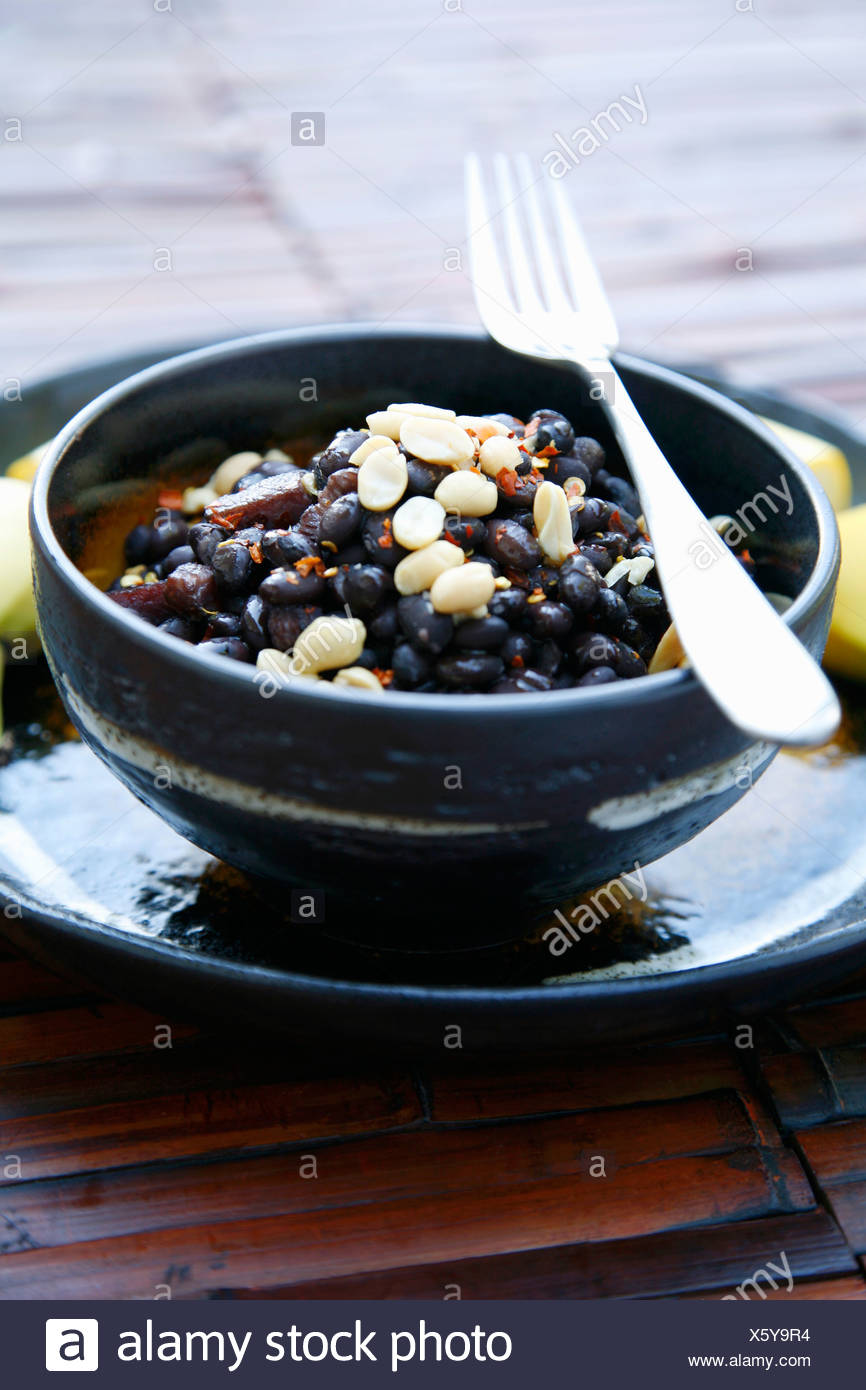 Namibian cuisine stock photos namibian cuisine stock images alamy black beans with bacon peanuts chilli namibia africa stock image forumfinder Image collections