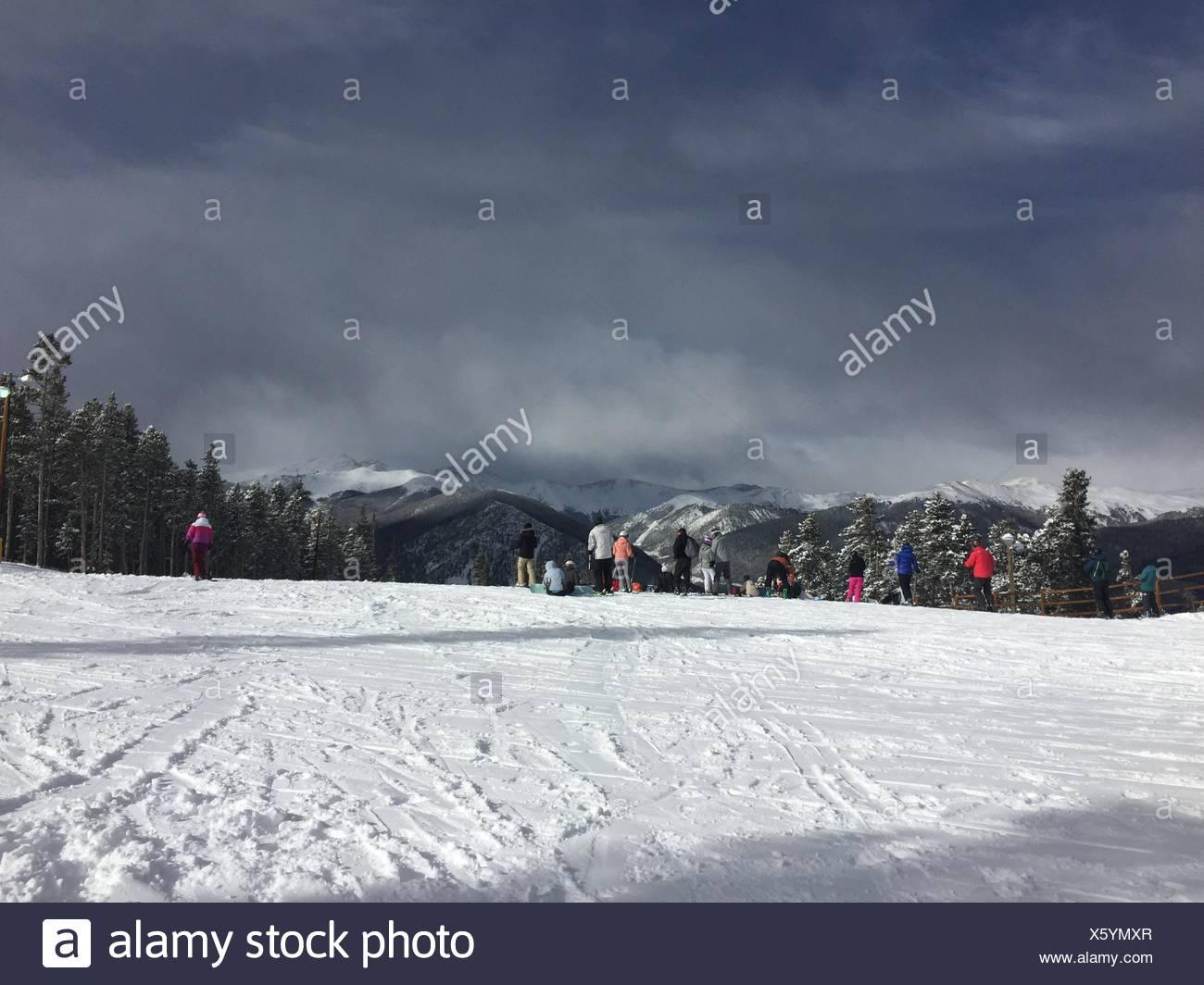 Glorious Mountains - Stock Image