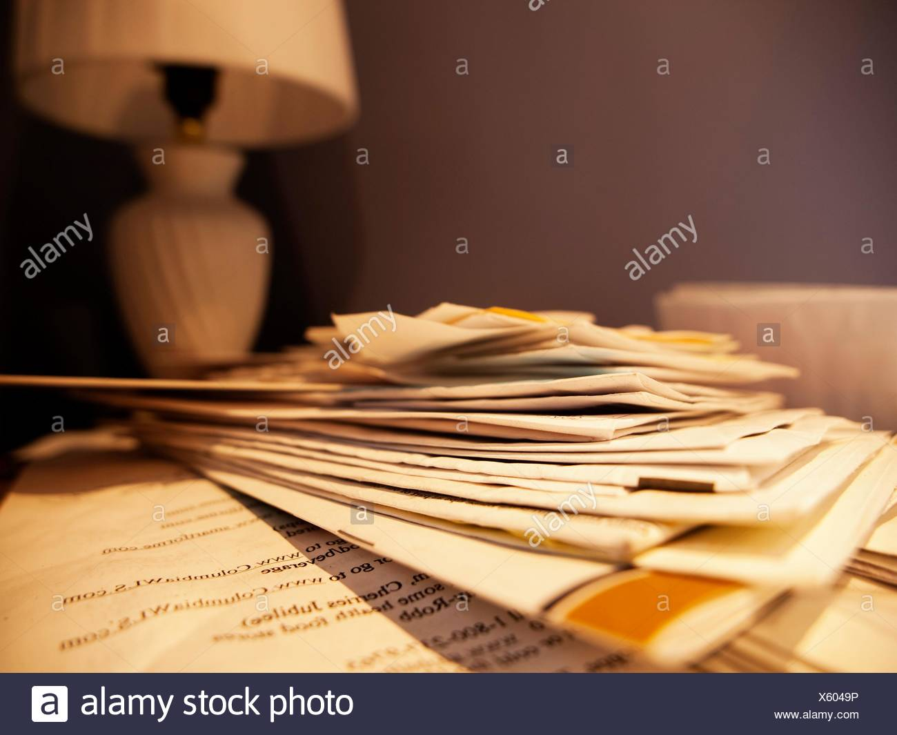 Abandoned personal property left behind in a bank-owned foreclosure in Providence, Rhode Island - Stock Image