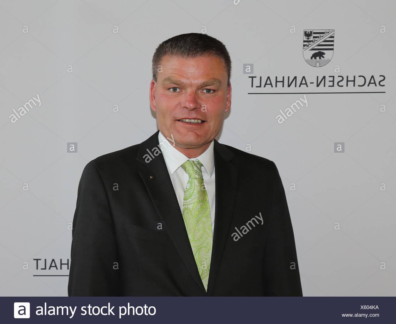 Holger Stahlknecht (CDU) Interior Minister of Saxony-Anhalt - Stock Image