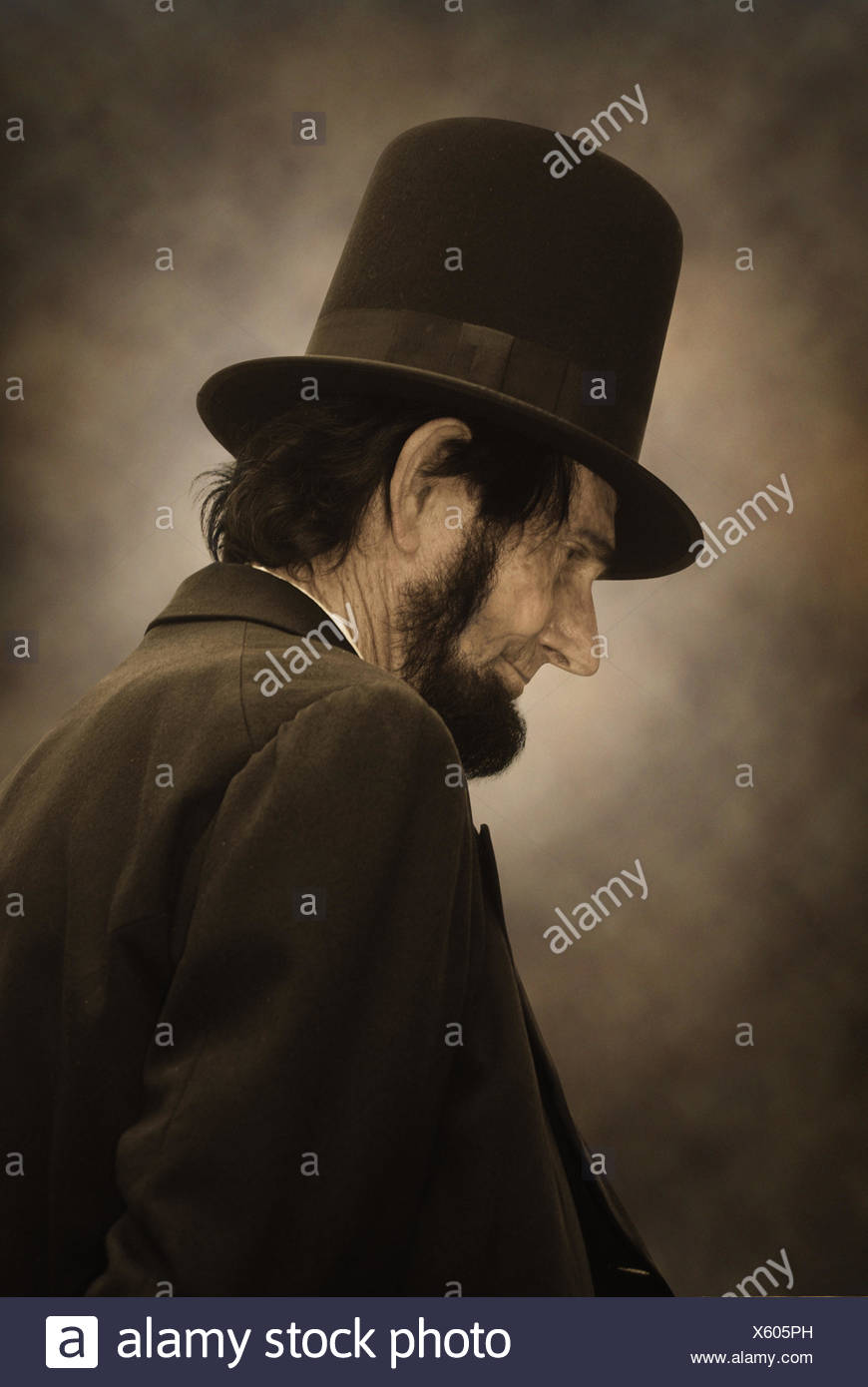 profile, portrait, history, personage, personality, profile, portrait, history, - Stock Image