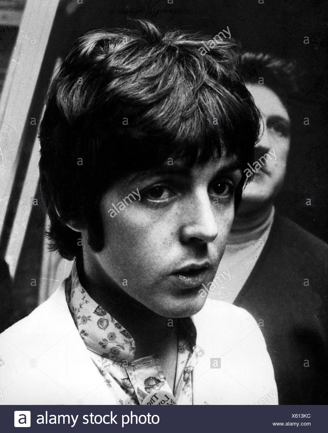 McCartney, Paul, * 18.6.1942, British singer and musician, band, 'The Beatles', portrait, 1960s, , Additional-Rights-Clearances-NA - Stock Image
