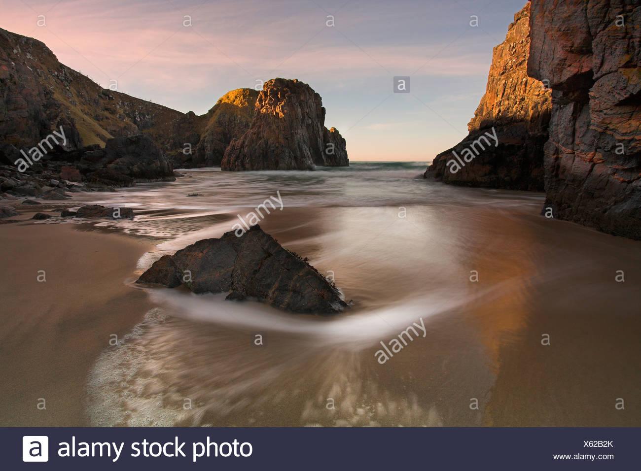 Traigh Ghearadha beach, Lewis, Outer Hebrides, Scotland - Stock Image