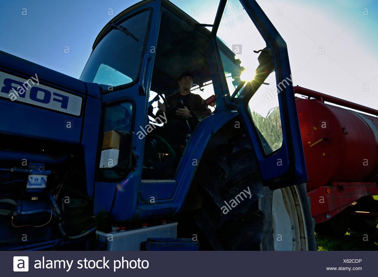 A farmer Sweden. - Stock Image