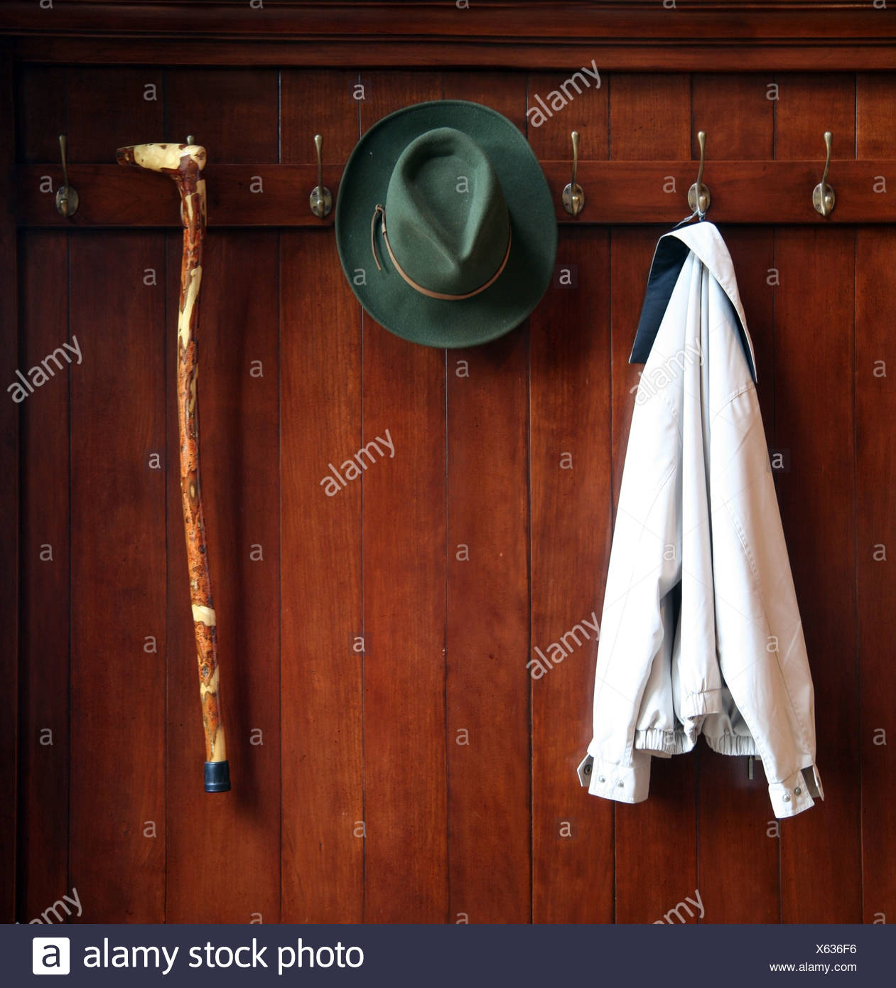 closet,hiking break,stop - Stock Image