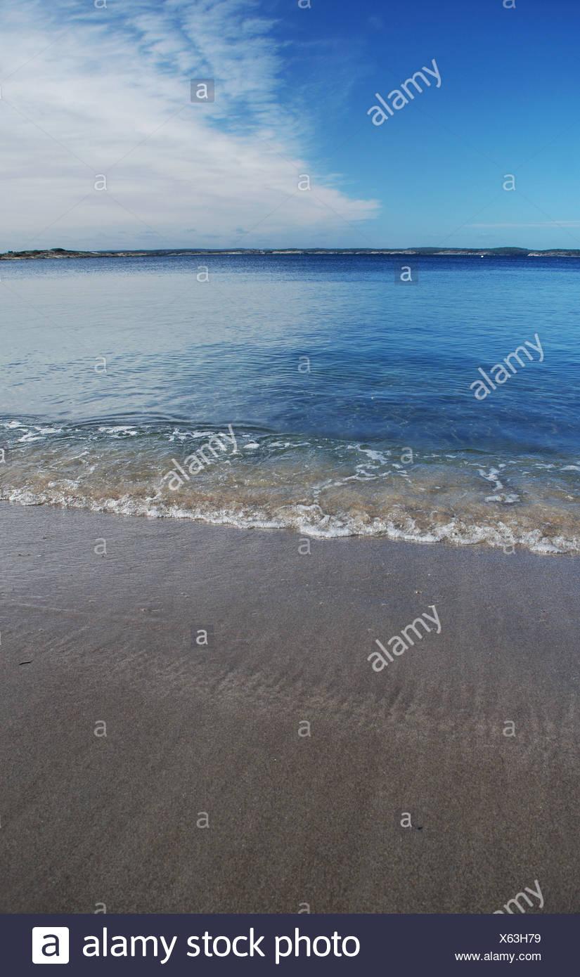 Heaven and beach - Stock Image