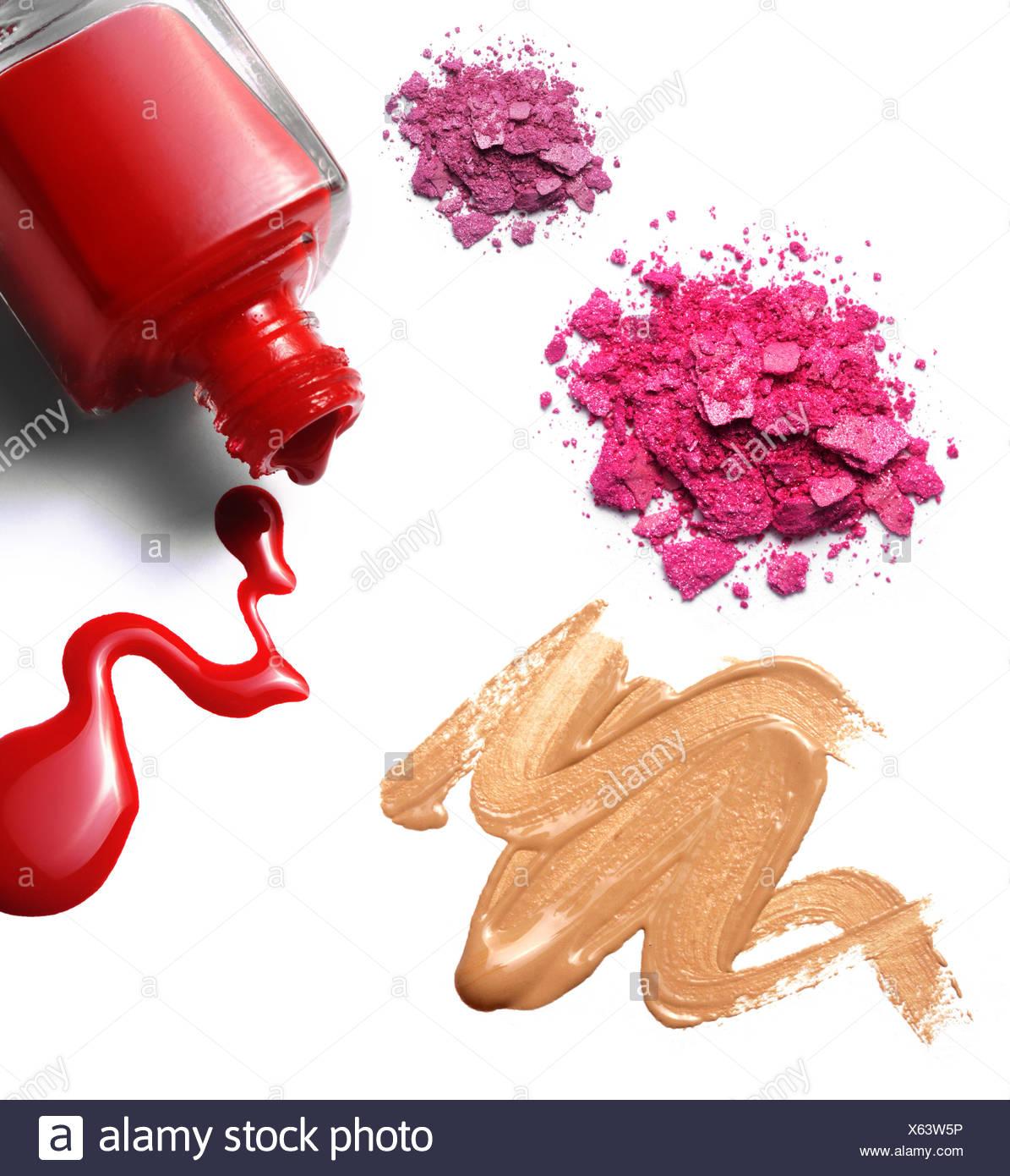 make up,eyeshadow,nail polish,cosmetics Stock Photo: 279139442 - Alamy