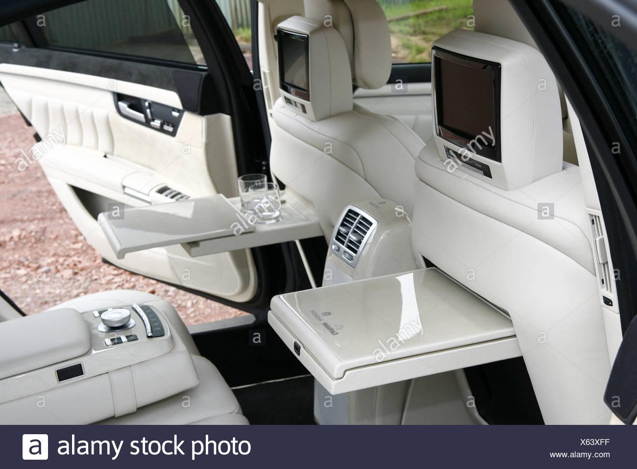 Luxury Cars Carlsson Aigner S Class Ground Interior Vehicle Car