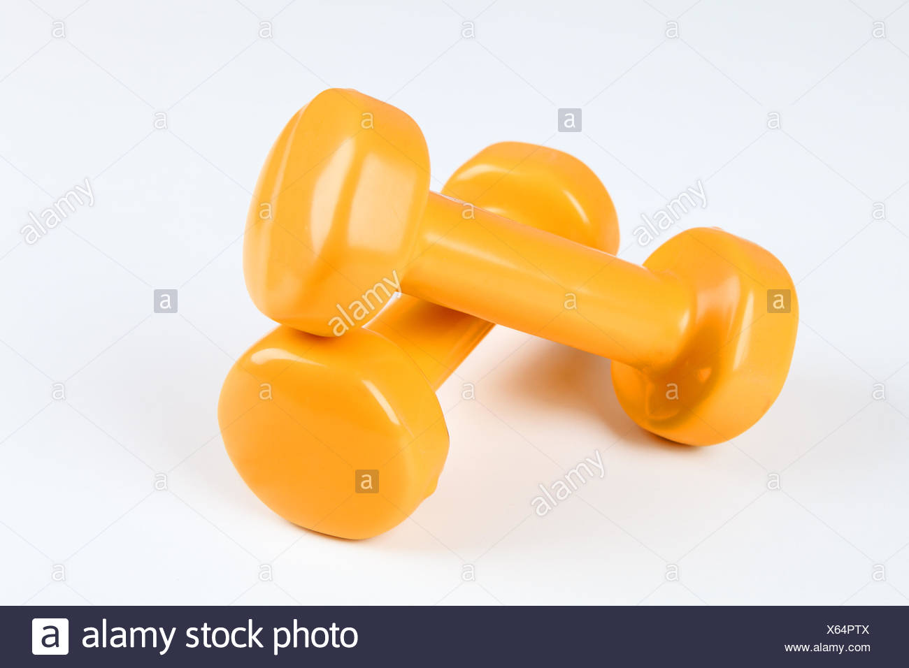 free weights - Stock Image