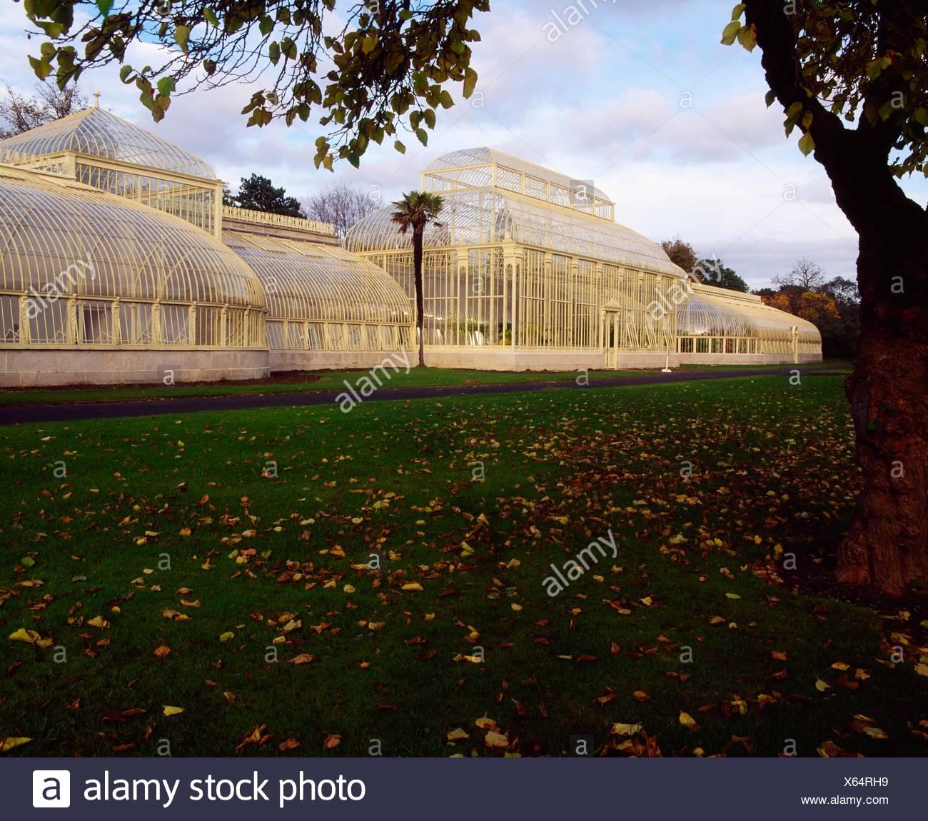 Palm House, Irish National Botanic Gardens, Co Dublin, Ireland Stock ...