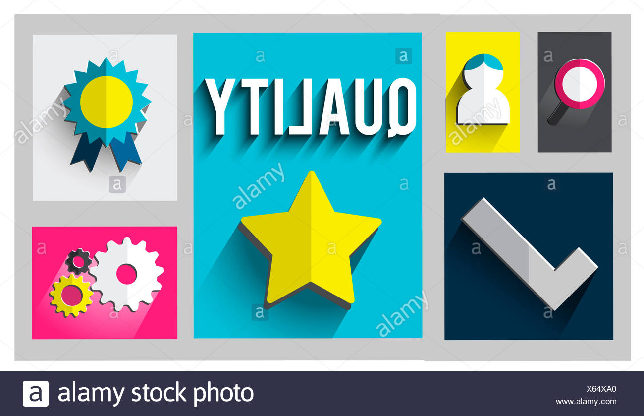Quality Level Condition Grade Satisfaction Status Concept - Stock Image