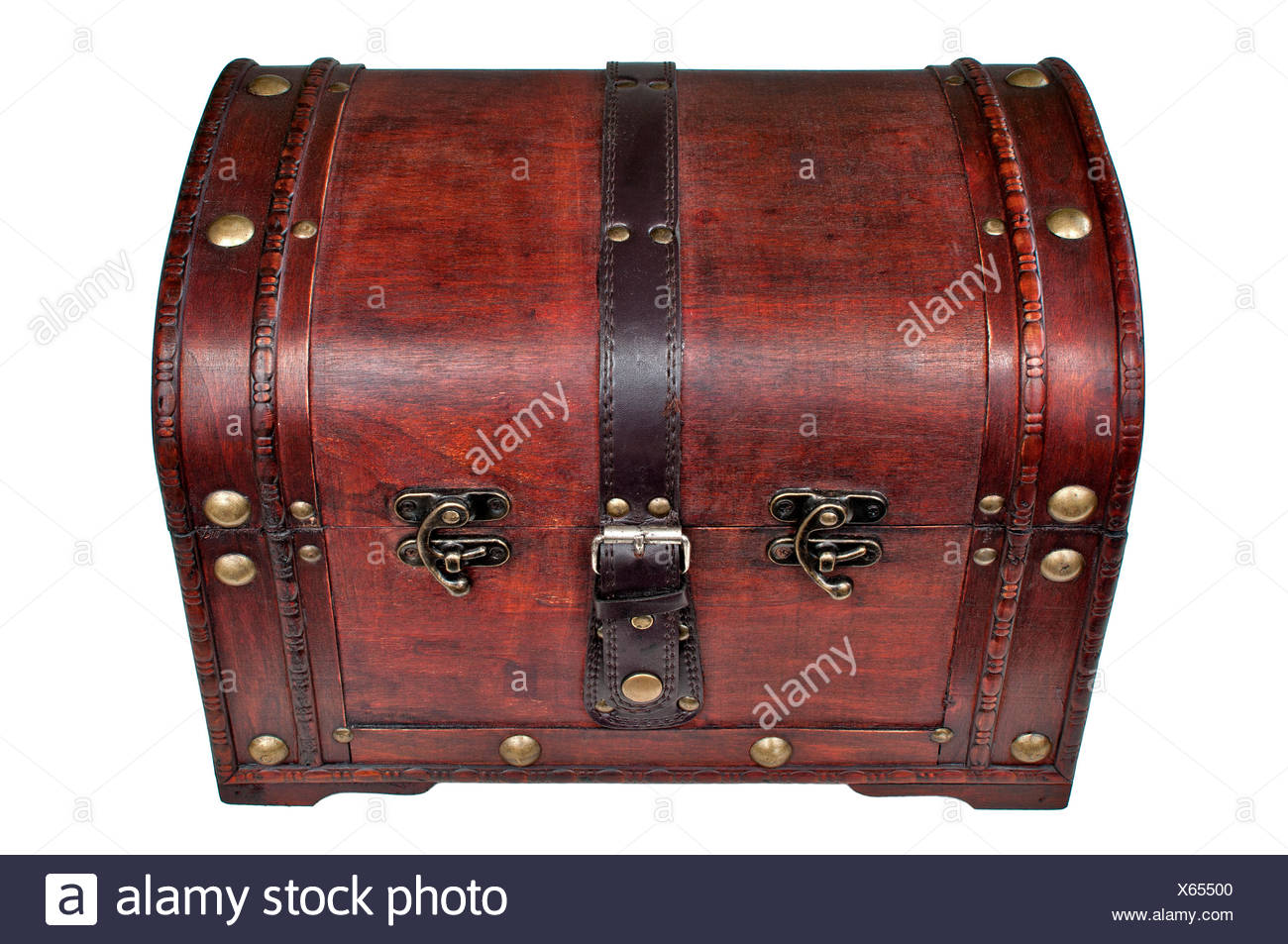 treasure chest,mysterious,wood chest - Stock Image