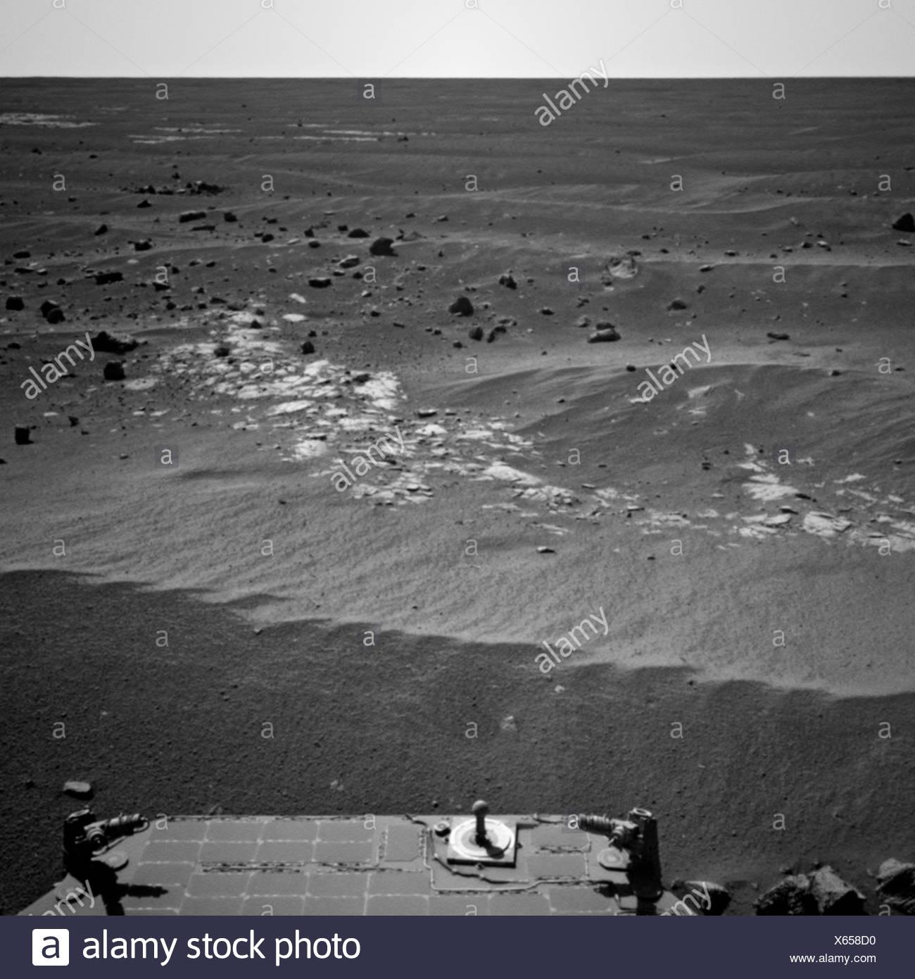 Martian Landscape - Stock Image