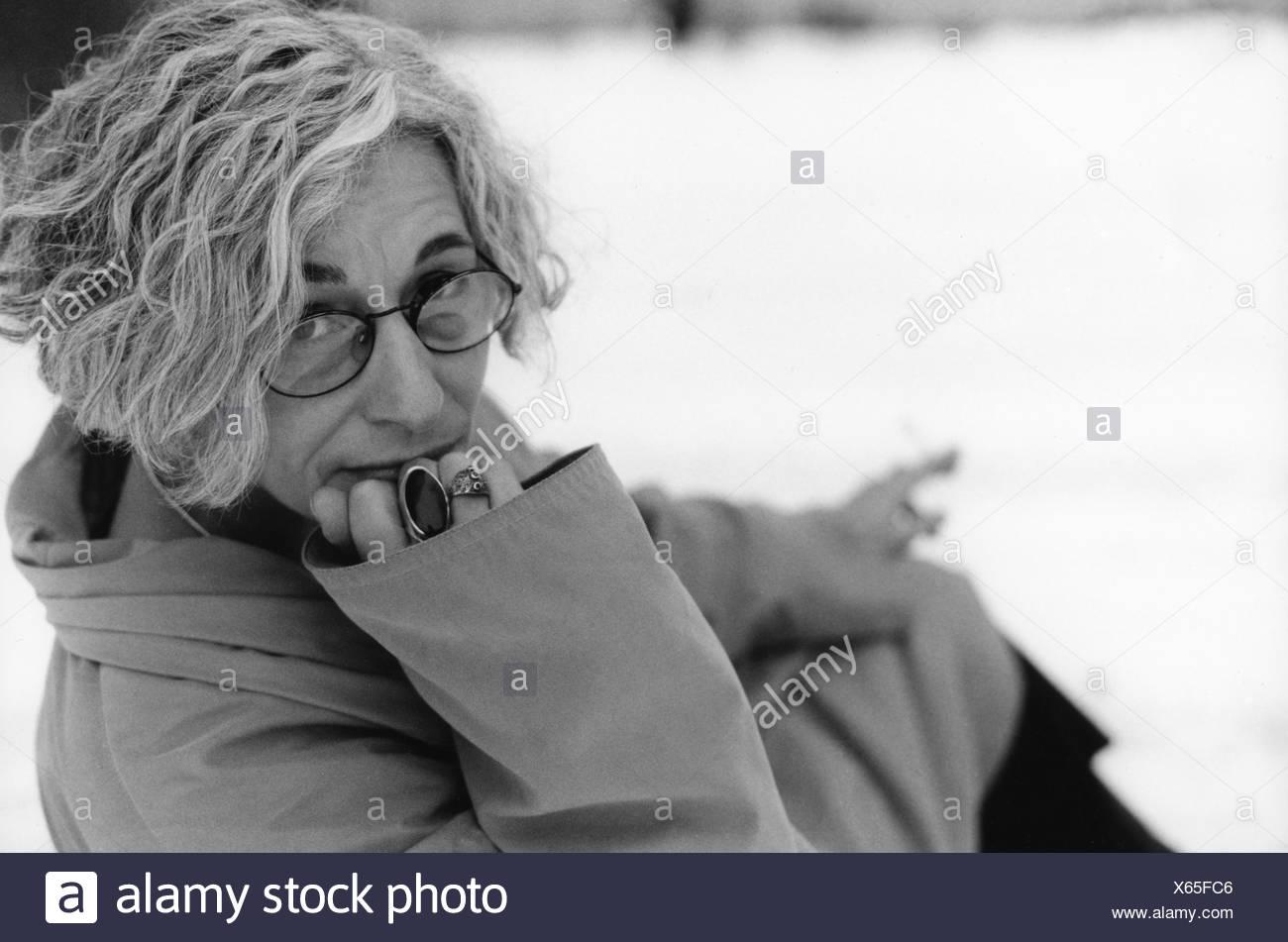 Diski, Jenny, * 1947, English author / writer, half length, 1999, , Additional-Rights-Clearances-NA - Stock Image