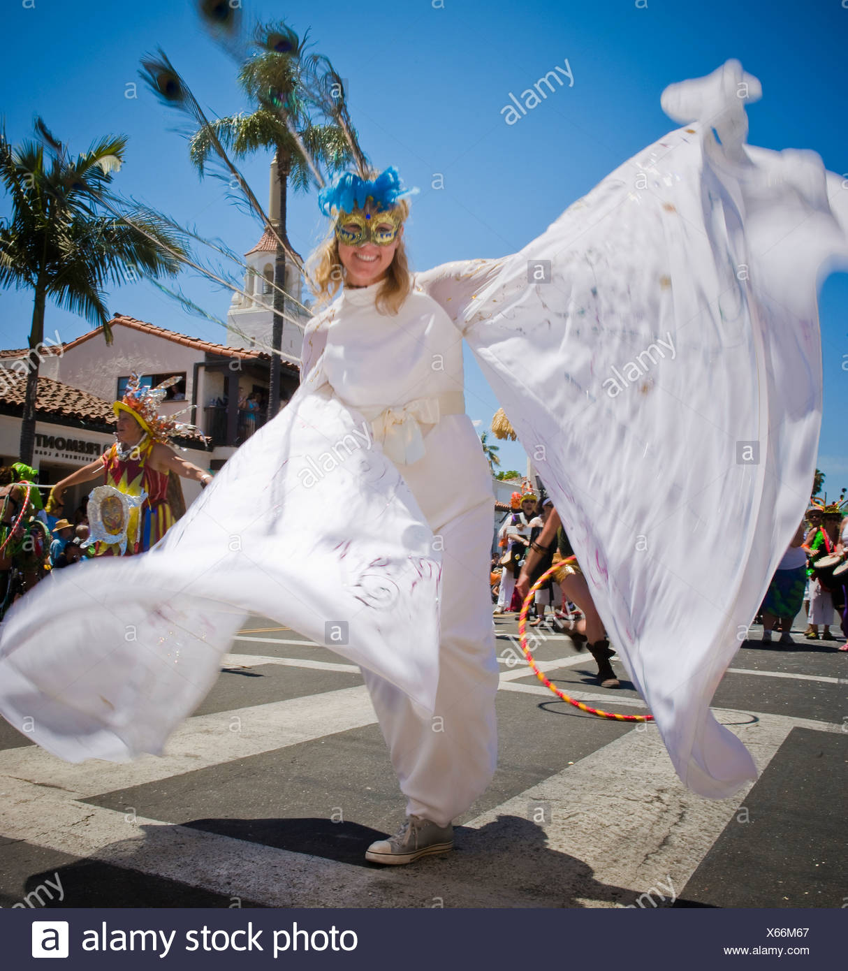 3118c38289f Characters and dancers participate in the annual Santa Barbara Solstice  Parade.