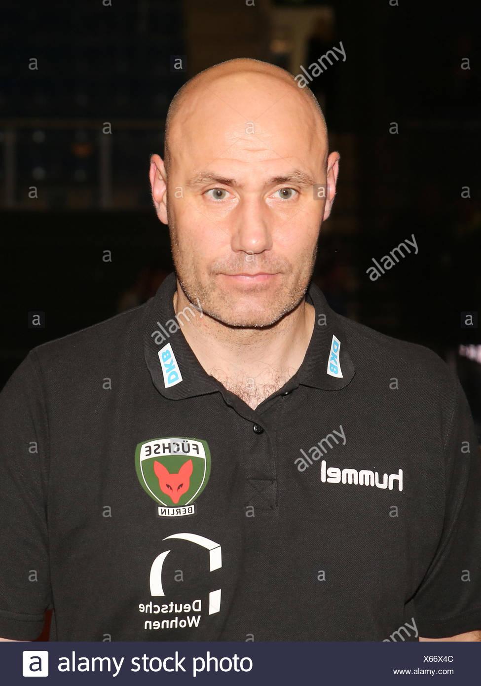 Coach Erlingur Richardsson (Füchse Berlin) - Stock Image