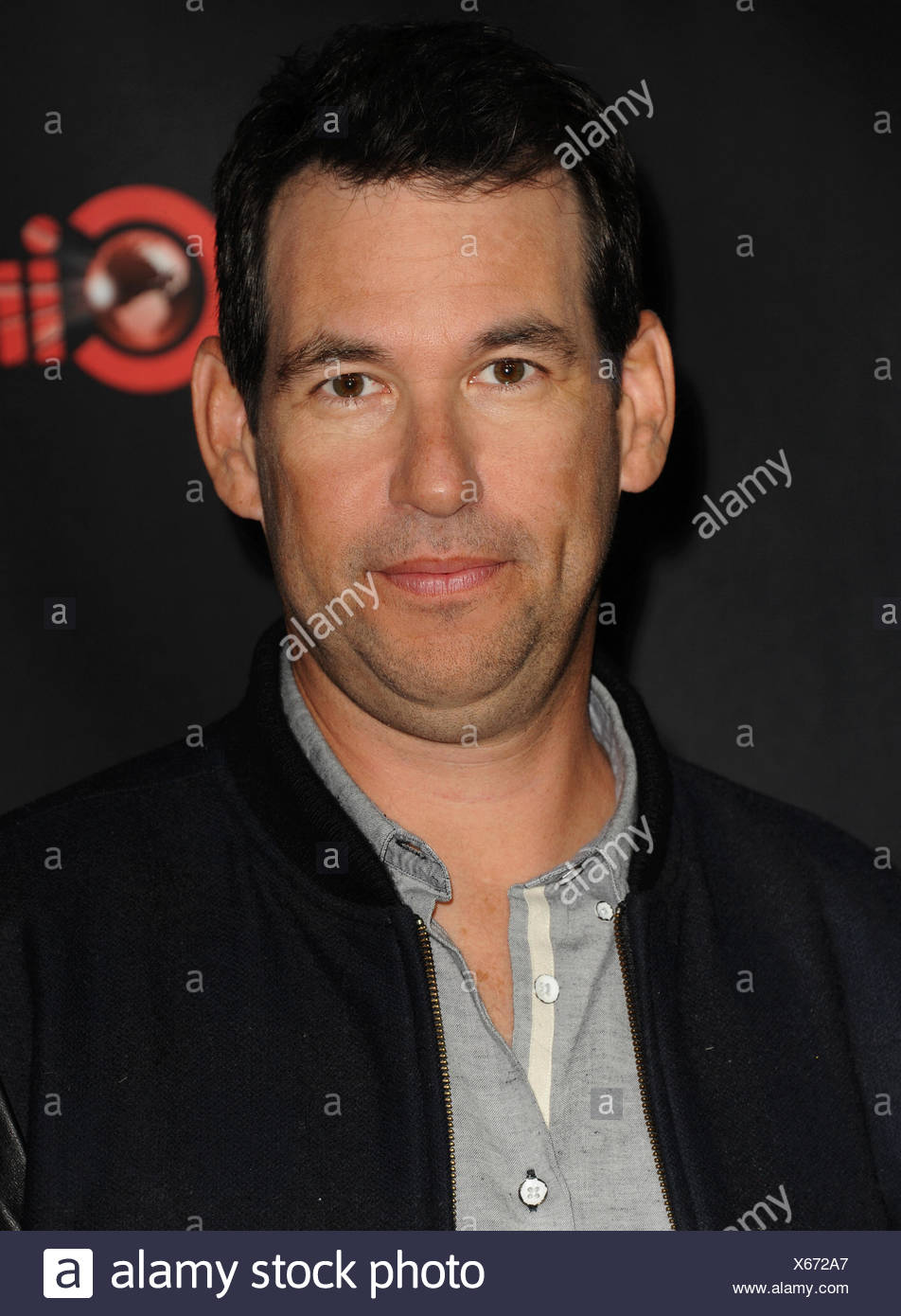 Creator/executive producer Doug Ellin arrives at Warner Bros. Pictures Invites You to ?The Big Picture at The Colosseum at Caesars Palace during CinemaCon, the official convention of the National Association of Theatre Owners, on April 21, 2015 in Las Vegas, Nevada., Additional-Rights-Clearances-NA - Stock Image