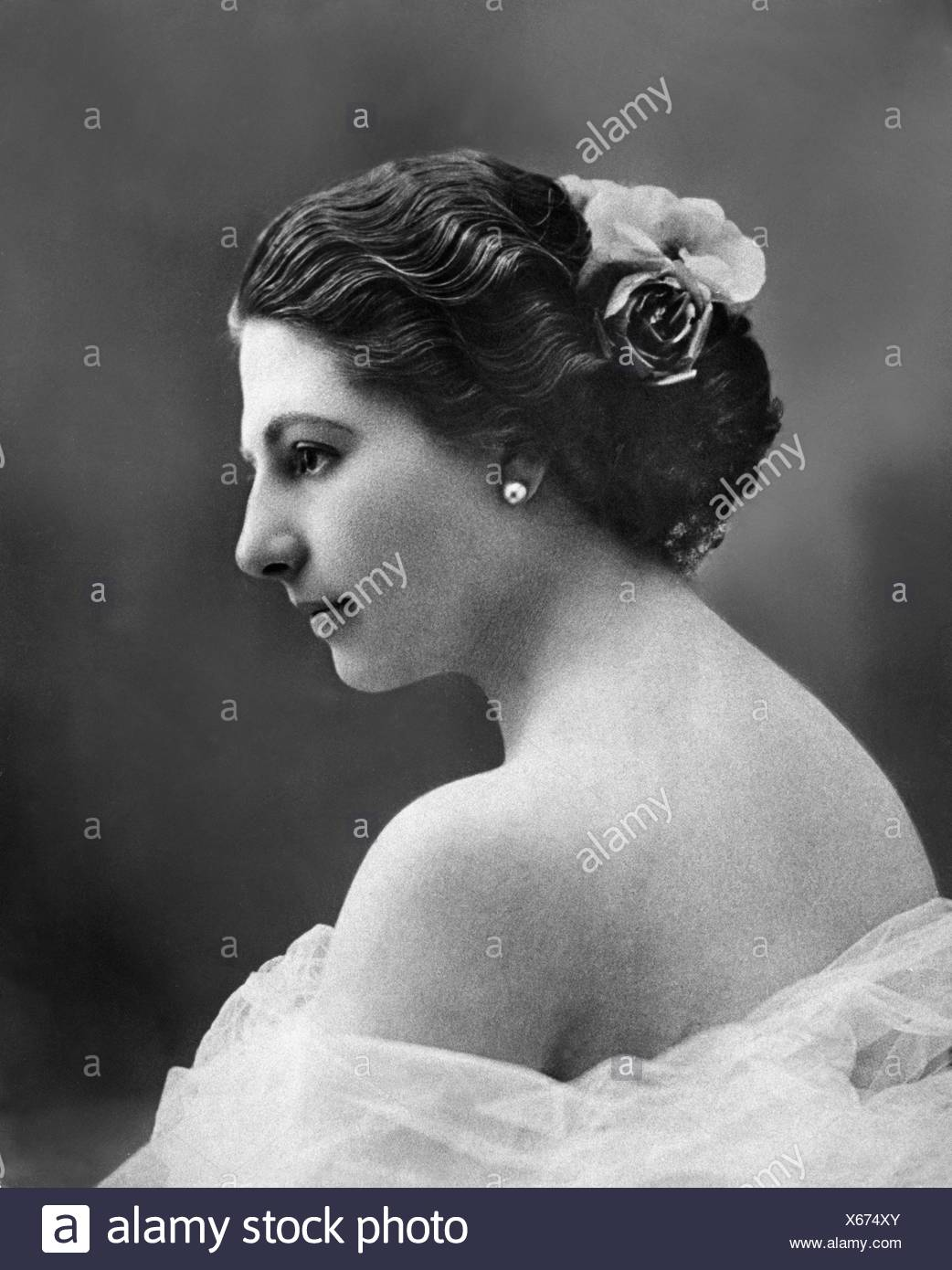 Mata Hari, 7.8.1876 - 15.10.1917, Dutch dancer and spy, portrait, circa 1905, Additional-Rights-Clearances-NA - Stock Image