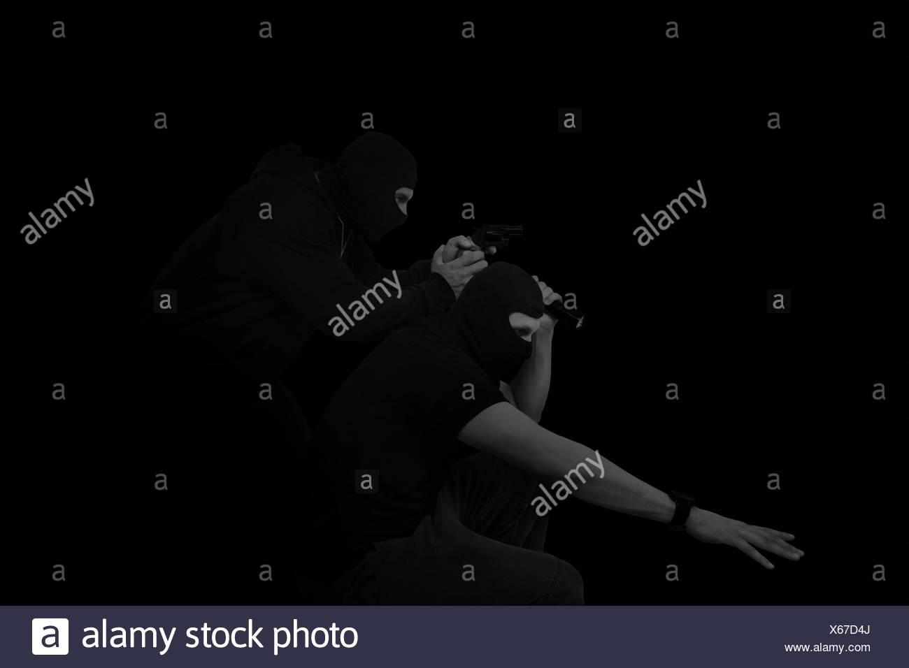 Thieves. - Stock Image