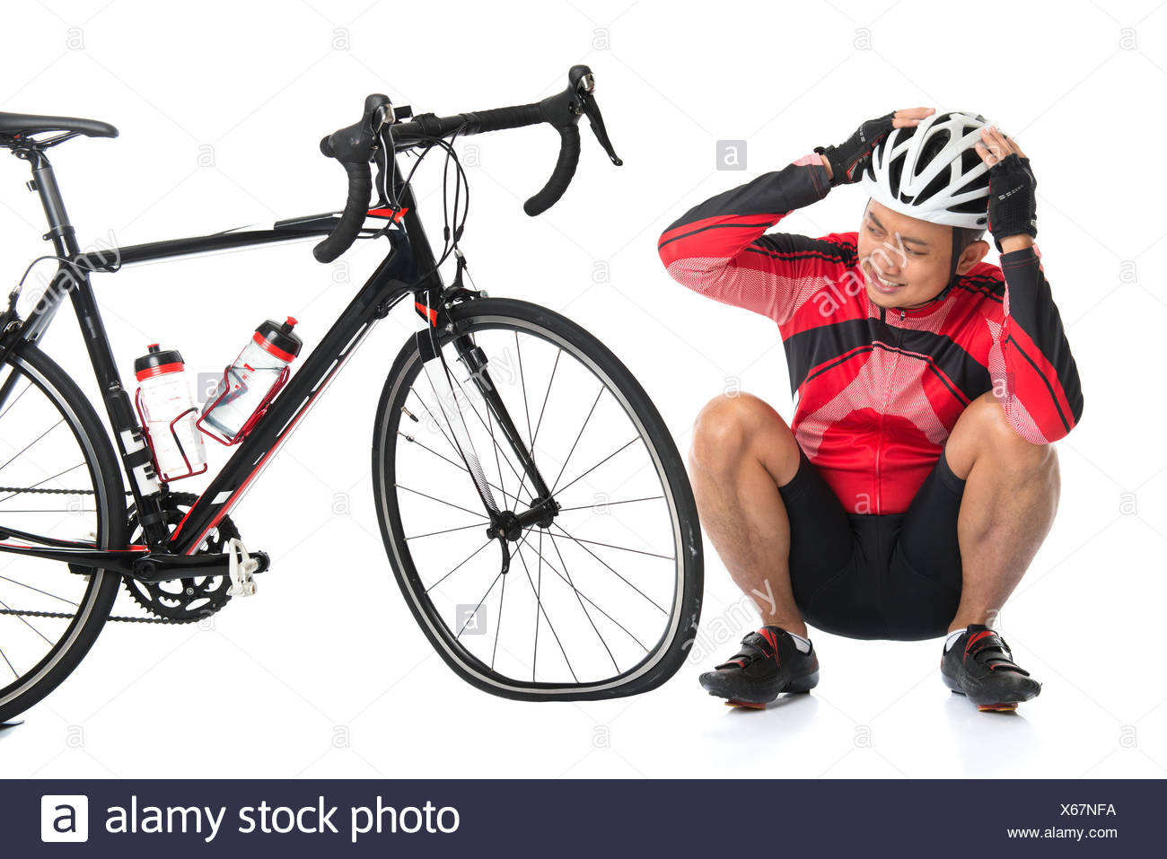 how to change a flat tyre on a bike