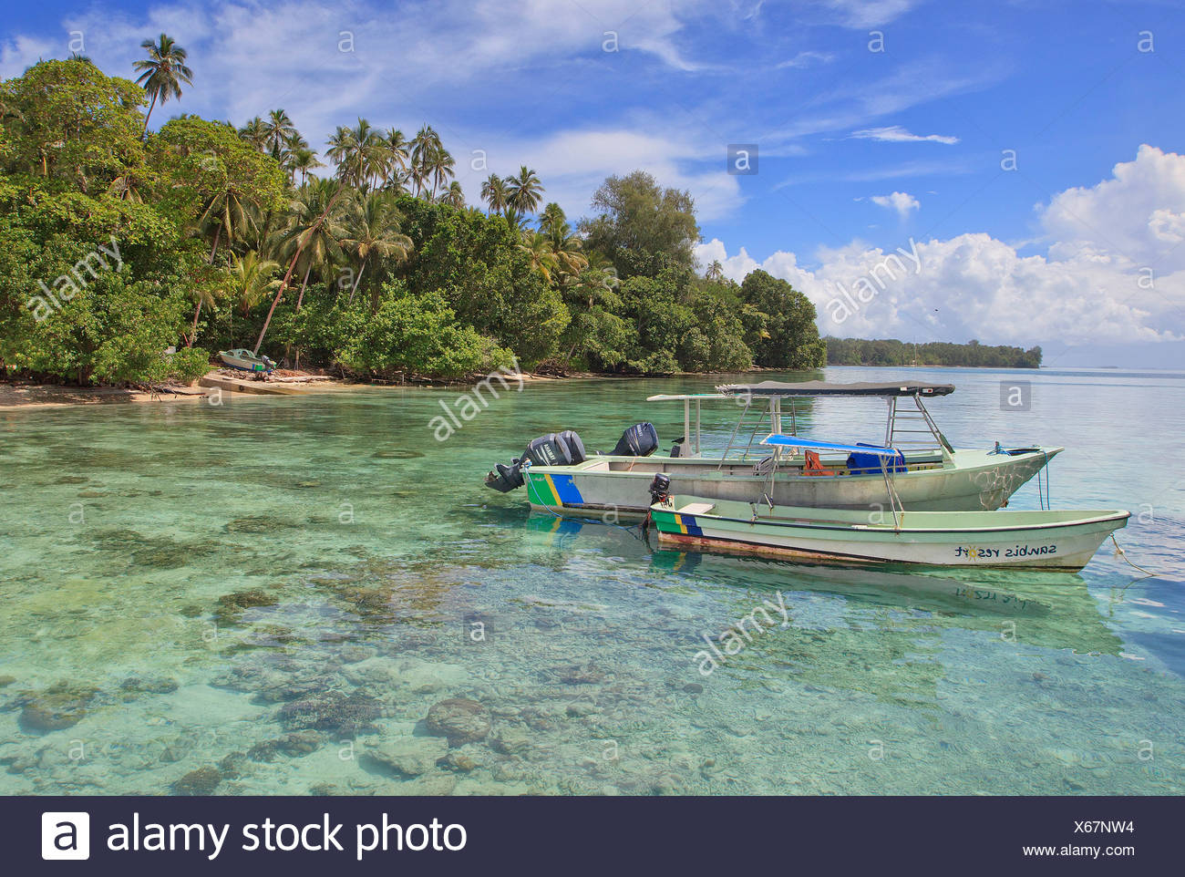 Gizo, Solomon Islands, Oceania - Stock Image