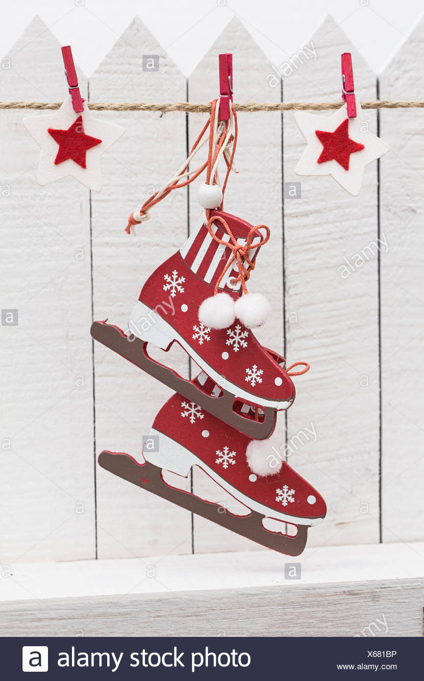 Ice Skates Christmas Stock Photos & Ice Skates Christmas Stock ...