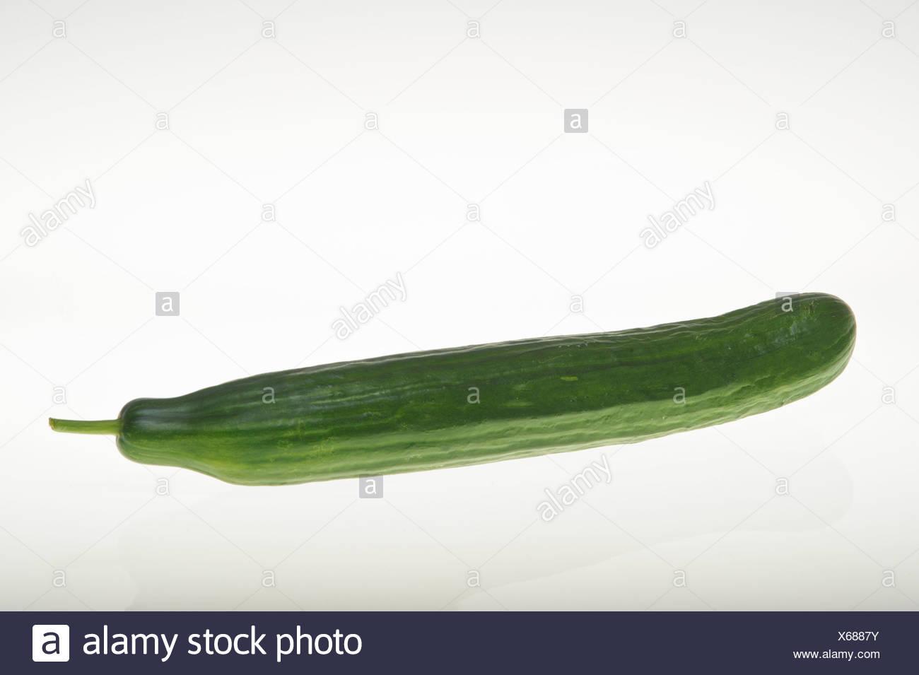 Cucumber, studio photograph - Stock Image