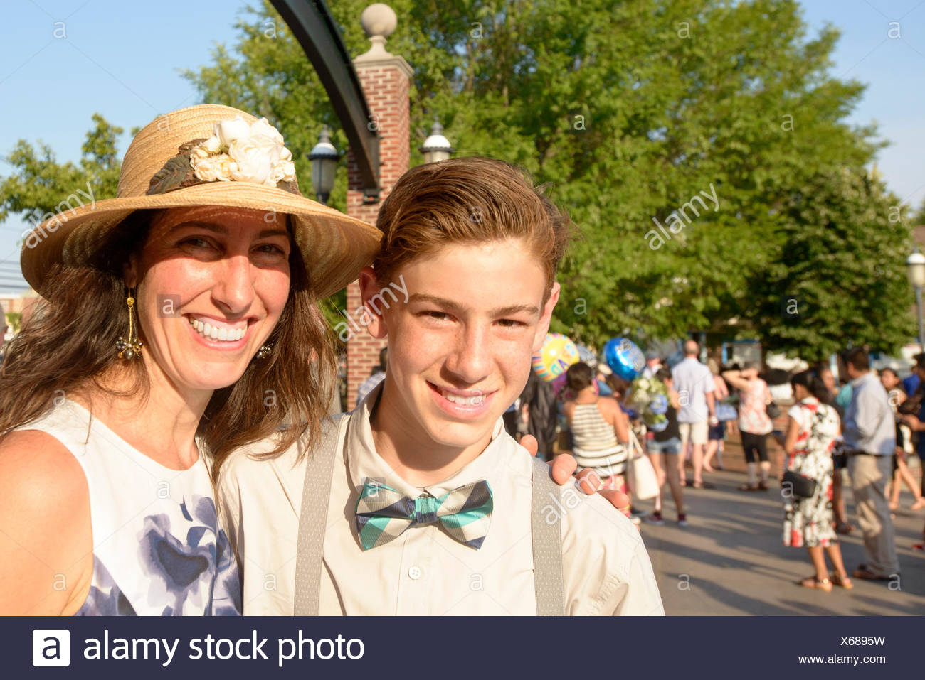 28425d597fe Mother With Child At Graduation Ceremony Stock Photos   Mother With ...