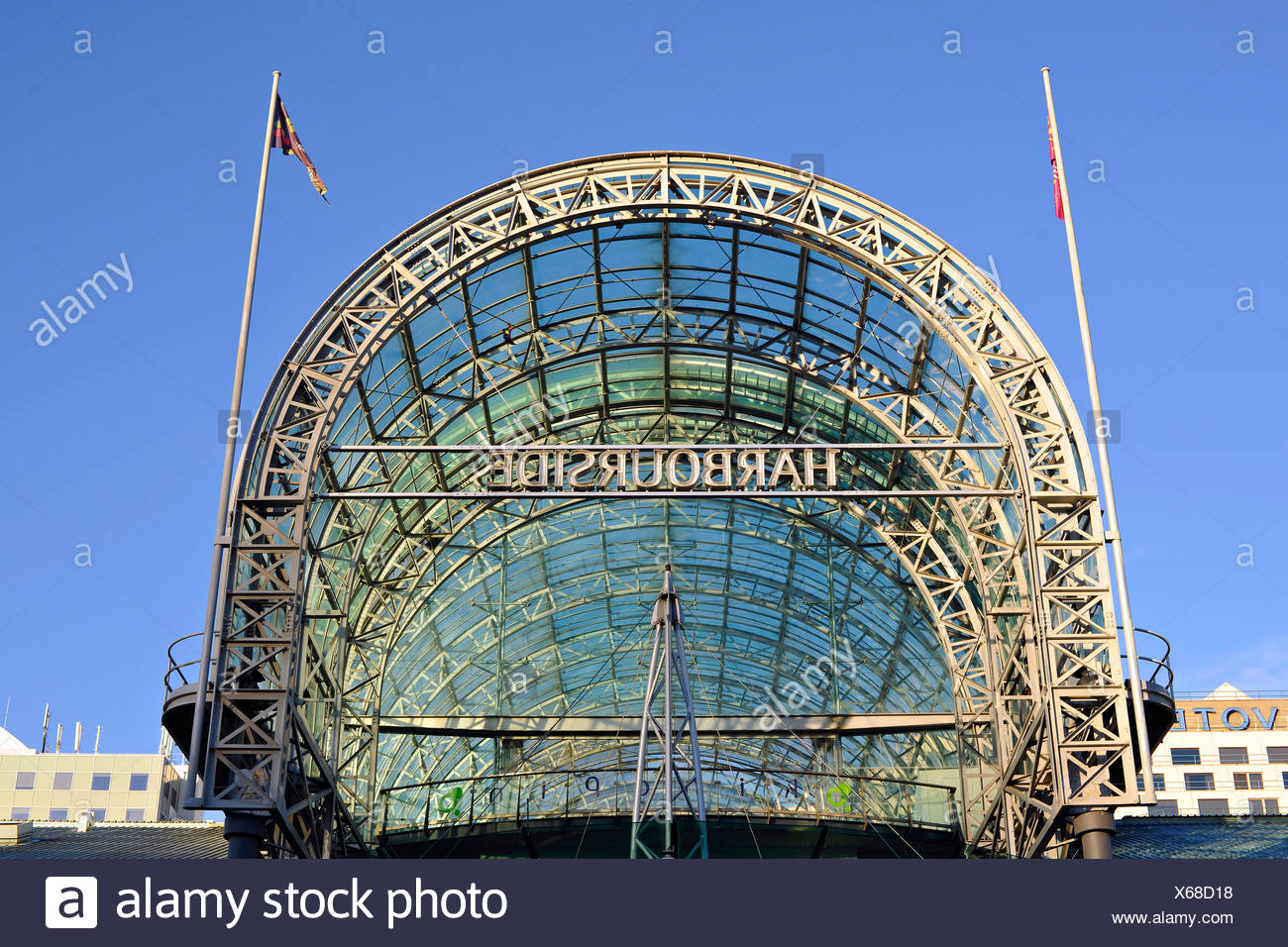 Harbourside Shopping Centre, Darling Harbour, Sydney, New South Wales, Australia - Stock Image