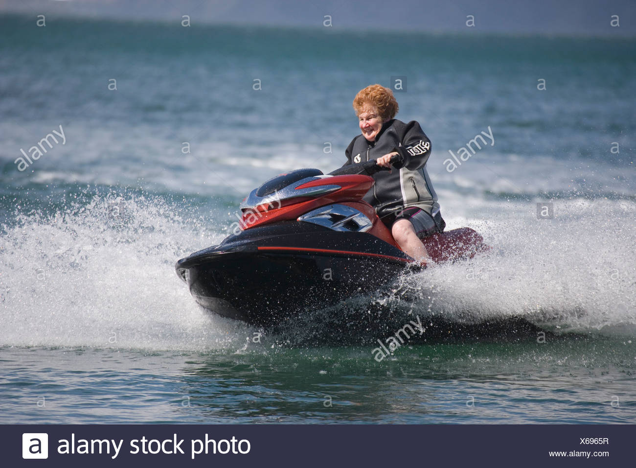 Jet Ski Jet Skis Jet Skiing Jetski Jetskiing Fun Speed Fast Water Human Person Thrill Excitement Adrenalin Stock Photo Alamy