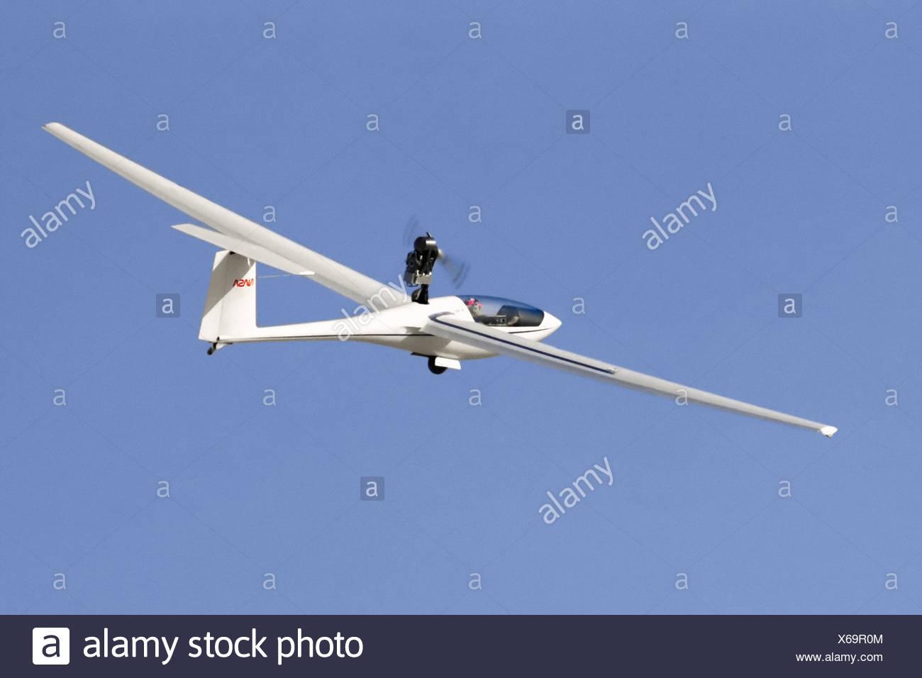 PIK-20 Aircraft in Flight - Stock Image