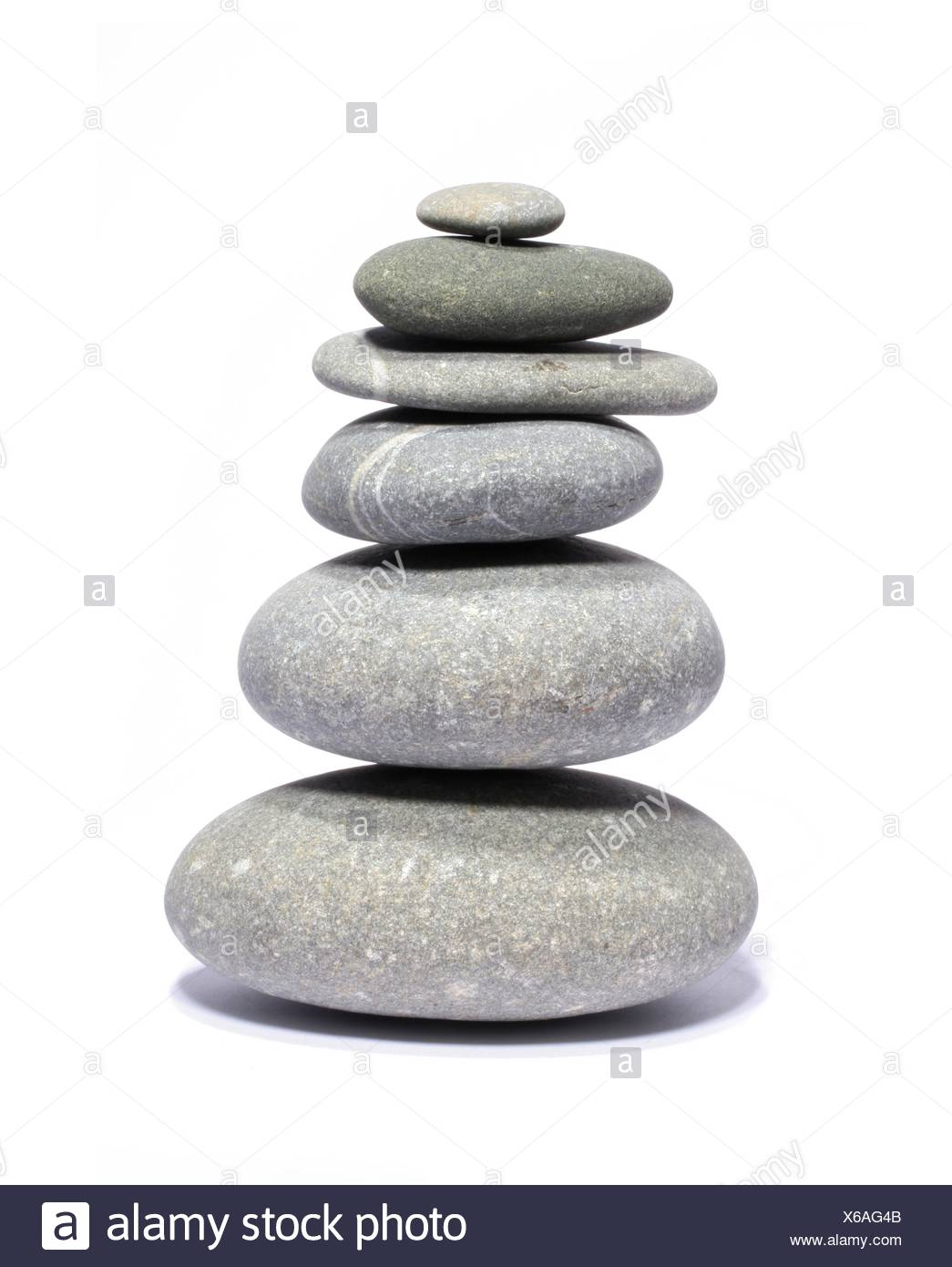 stone pile - Stock Image