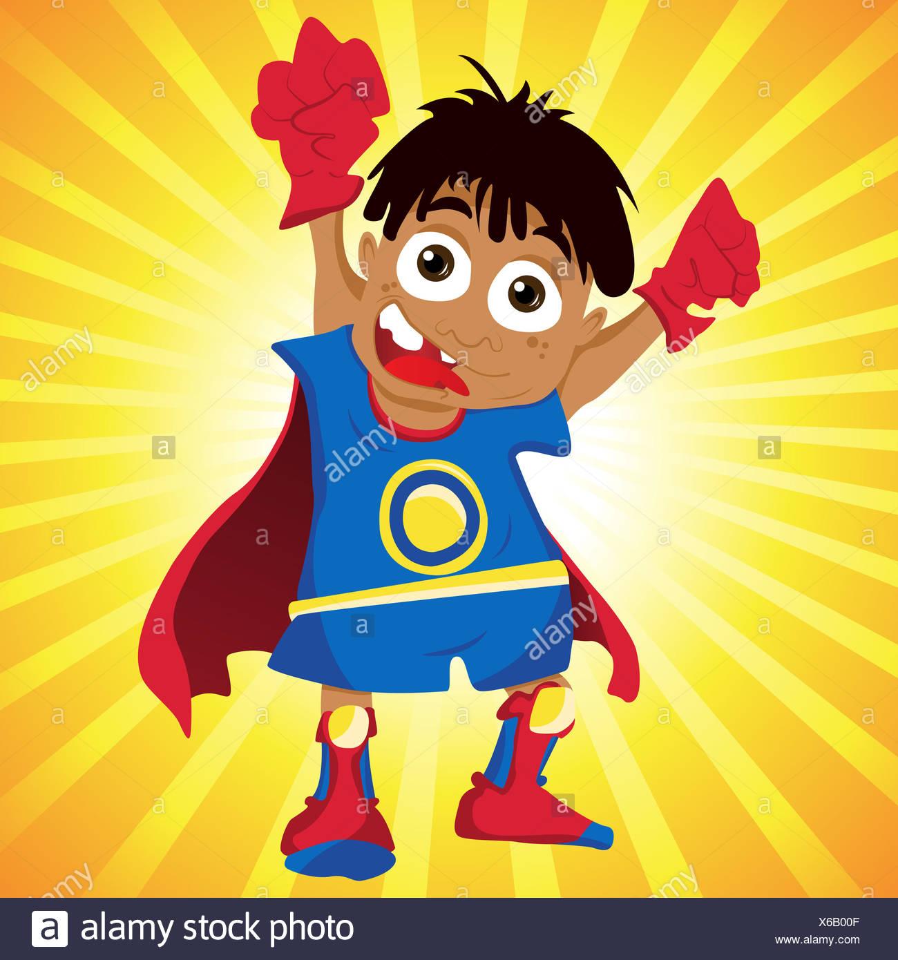 Super Hero Boys Stock Photos & Super Hero Boys Stock Images - Alamy