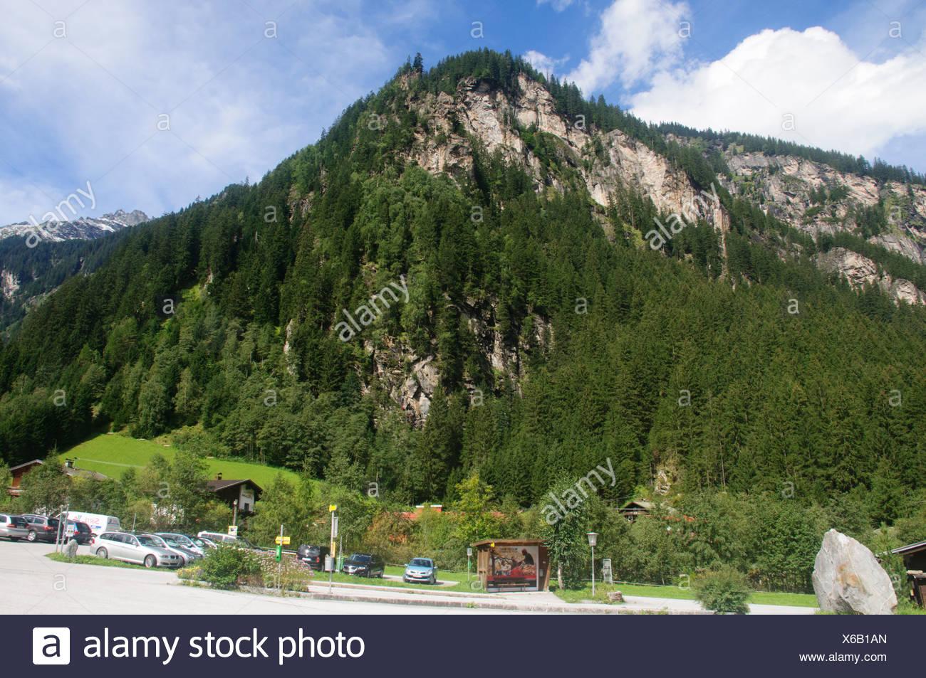 Ginzling, Tyrol, Austria Stock Photo