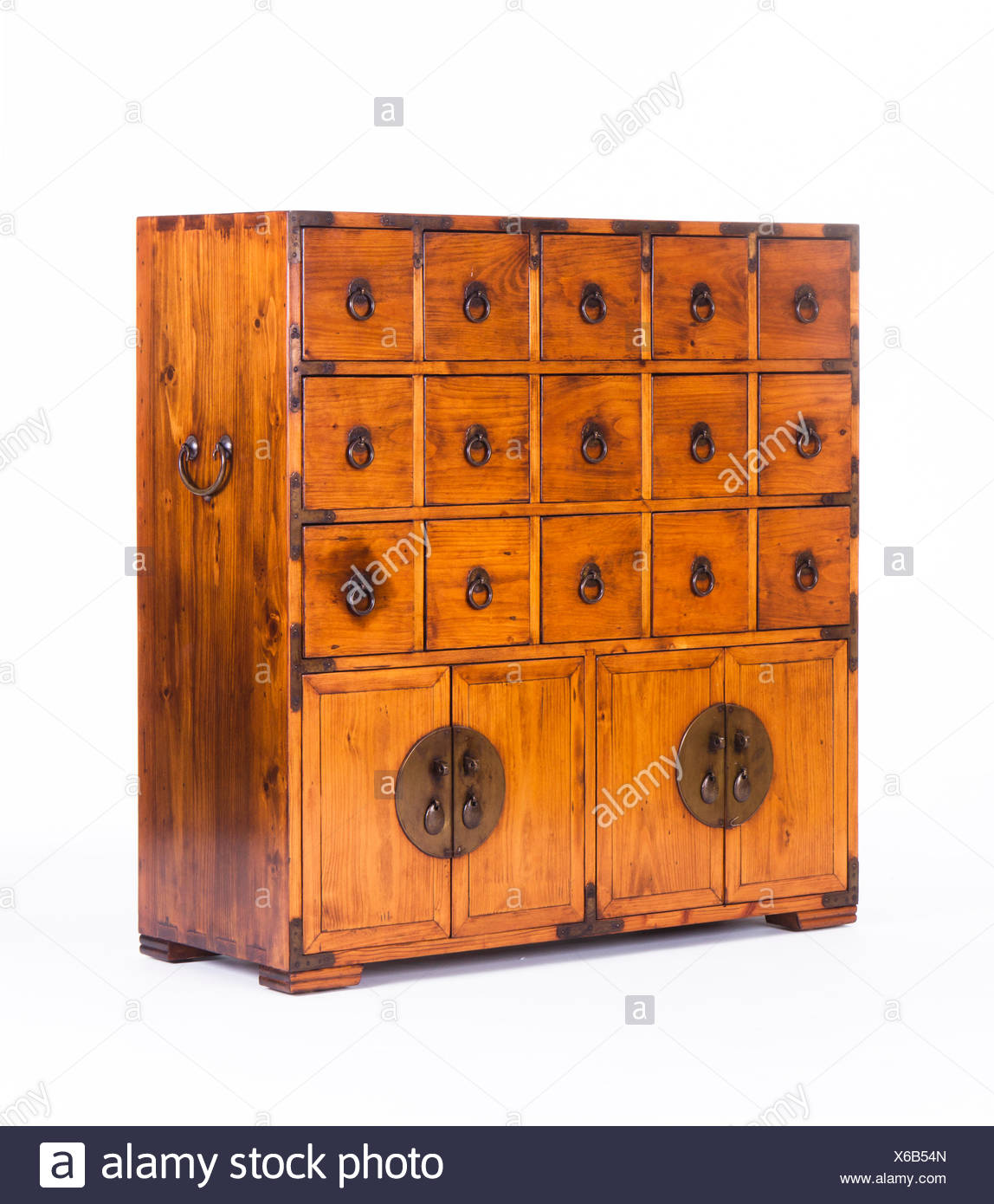 Chinese Cabinet   Stock Image
