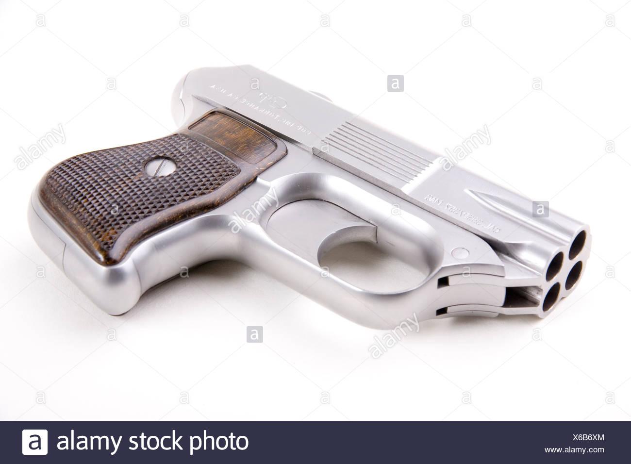 Cop Cal 357 Magnum - Stock Image