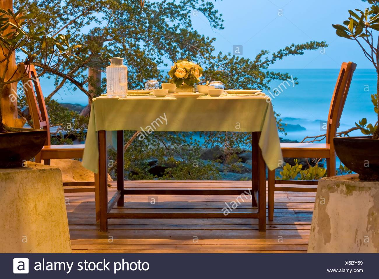 Dining Table set - Stock Image