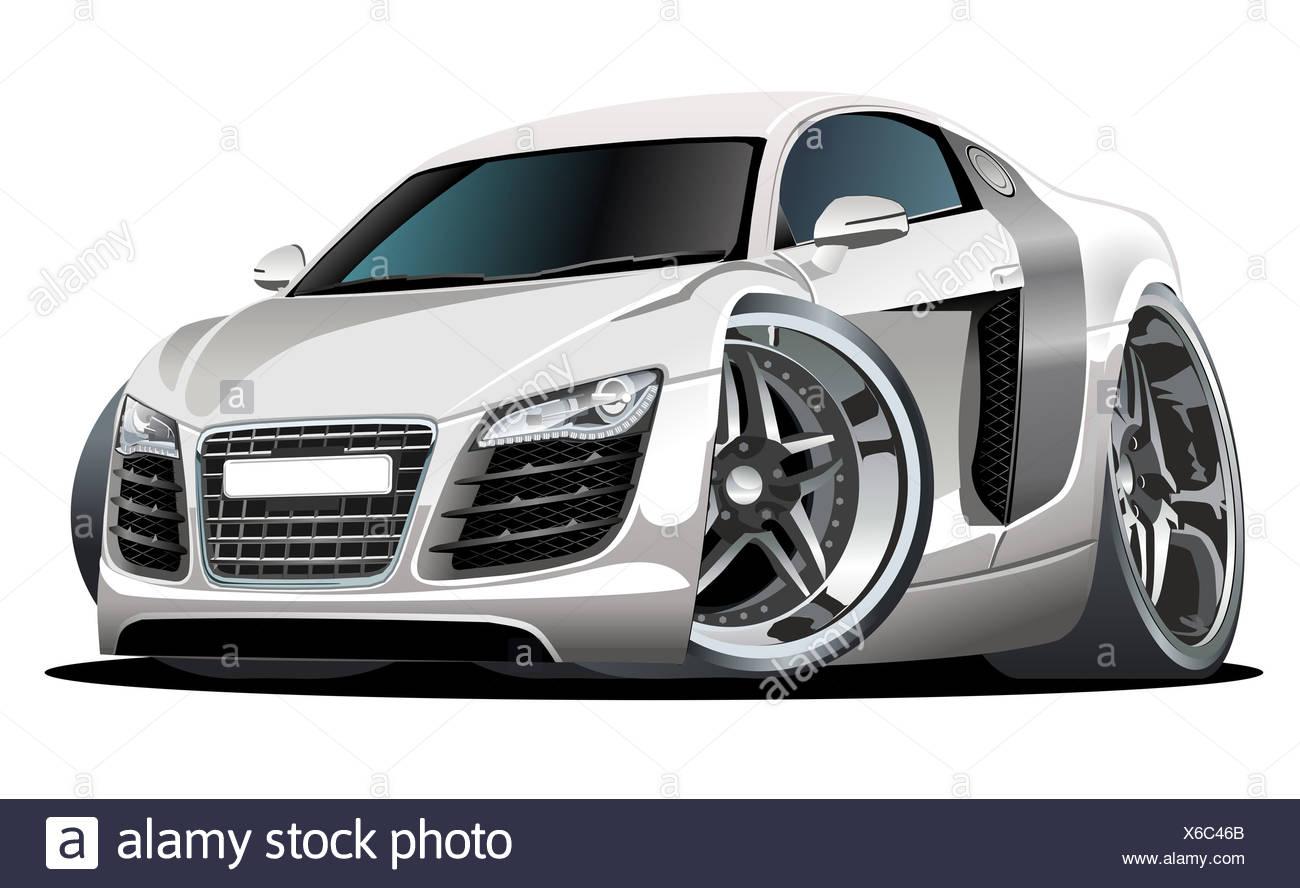 Sport Car Cartoon Stock Photos Sport Car Cartoon Stock Images Alamy
