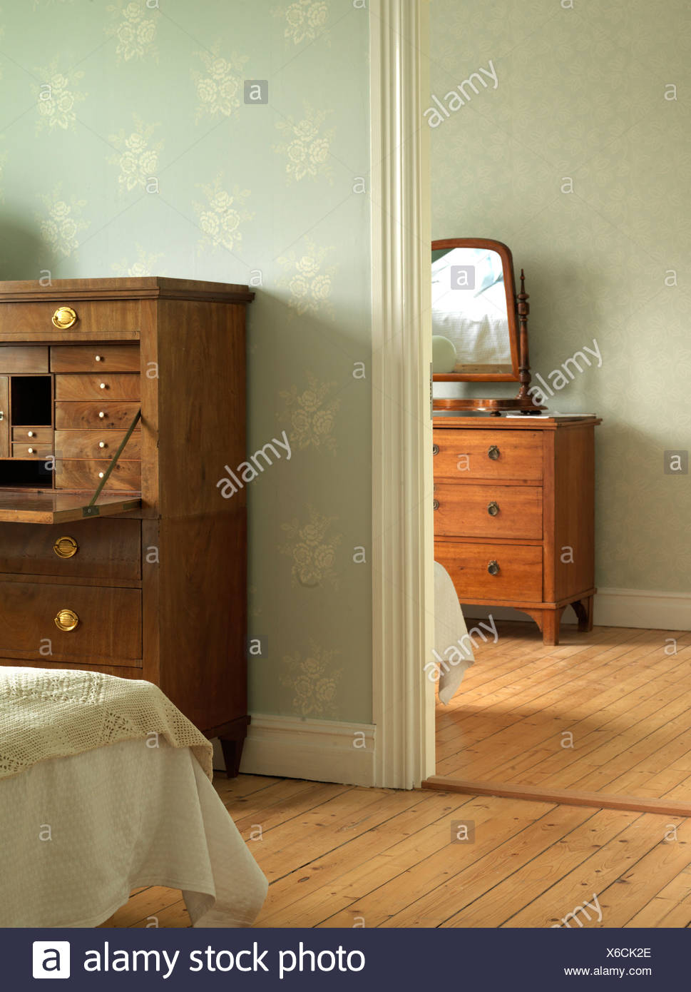 Two rooms. - Stock Image
