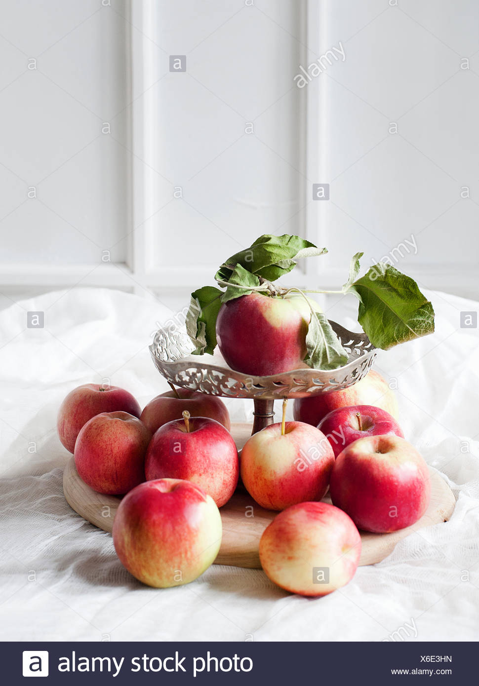Composition of apples - Stock Image