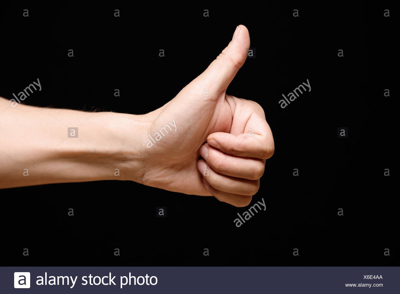 Thumbs-up - Stock Image