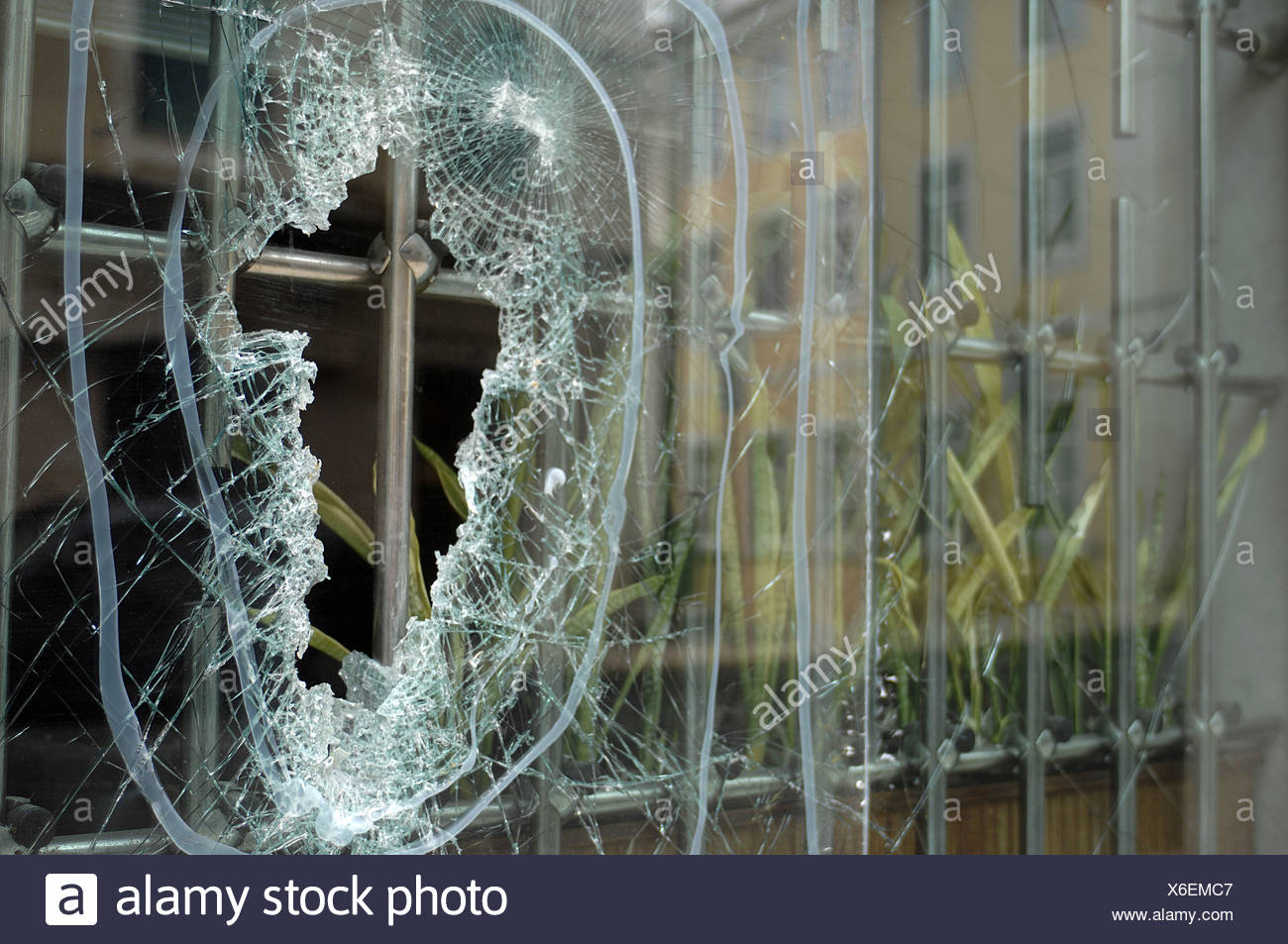 Vandalism - Stock Image