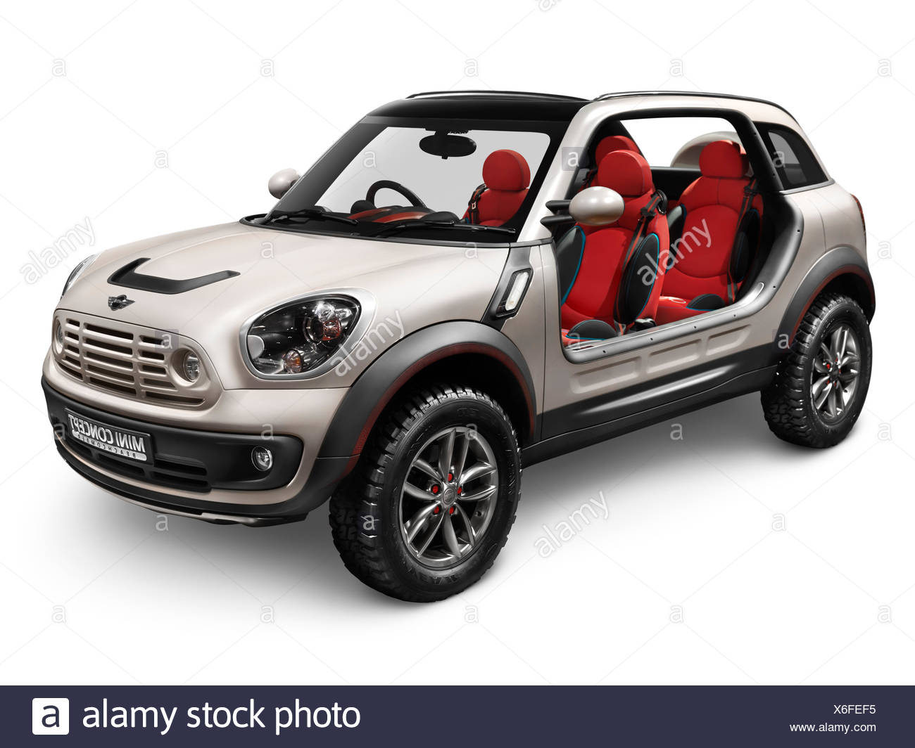 2010 Mini Beachcomber concept car without doors and roof - Stock Image