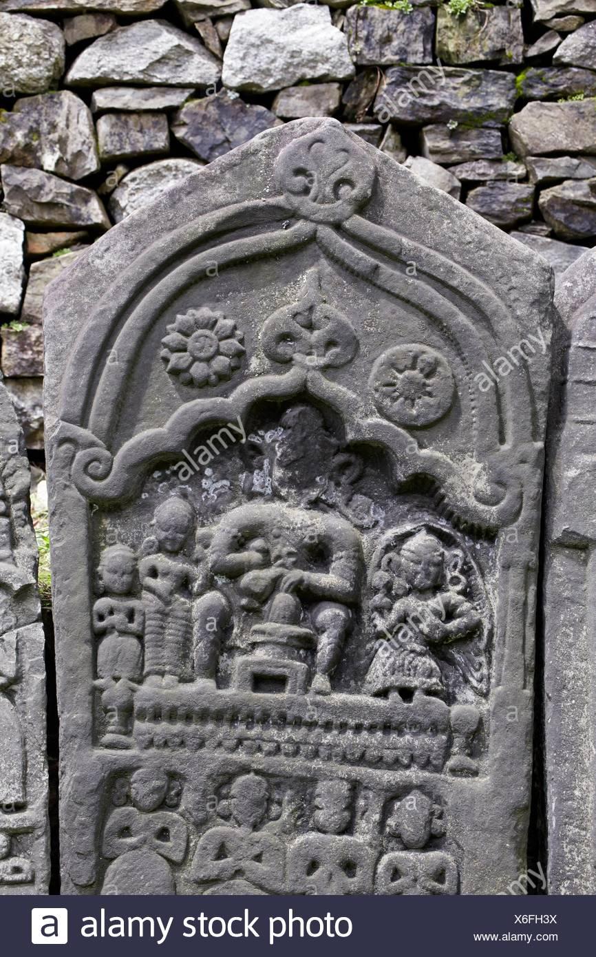 Nicholas Roerich Gallery, Kullu Valley, Naggar, Himachal Pradesh, India. - Stock Image
