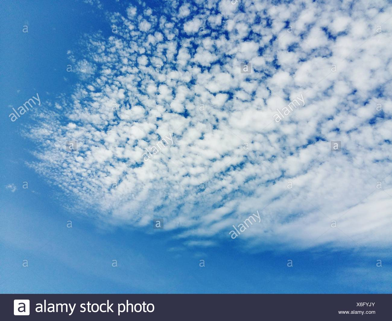 Low Angle View Of Cloudy Sky Stock Photo